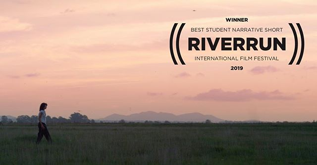 'Destete' won Best Student Narrative Short at RiverRun International Film Festival 2019!!! Thank you @riverrunfilm for this incredible honor!. . . . #writer #director #cinematographer #short #film #student #nyu #thesis #riverrun #film #festival