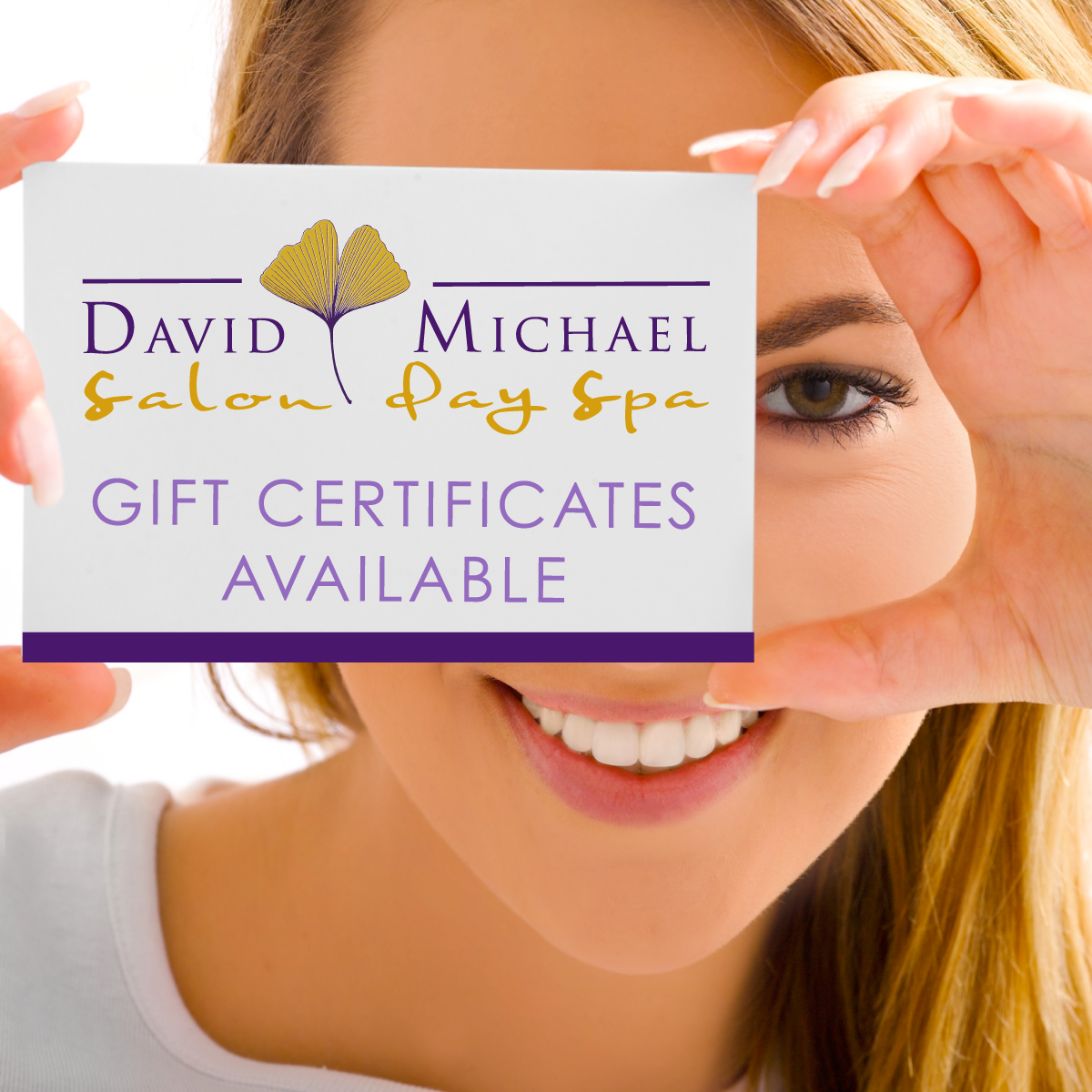 Gift certificates and gift packages