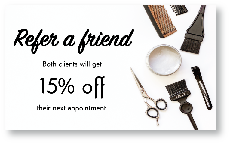 Refer a Friend 15% Off