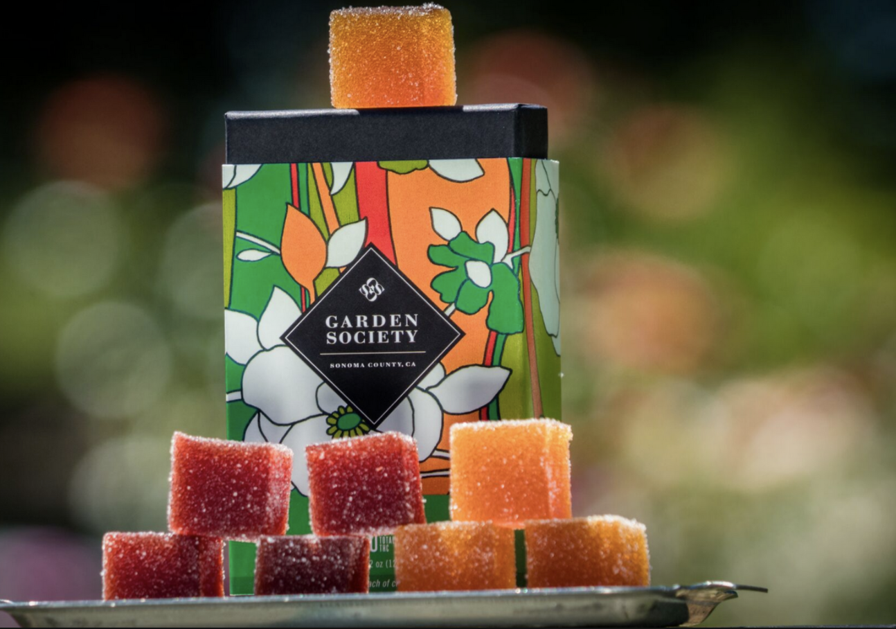 Garden Society is premier artisanal edibles brand in California.