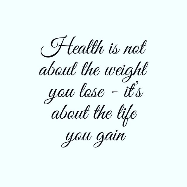 This could not be more true!  The more I learn about health and nutrition the more I realize that is does not mater what the scale says but what your body is telling you and how you feel!  Switching out over processed, chemical filled foods for clean Whole Foods has really made such a difference in how I feel, how my body functions and my overall health!  I know it can be overwhelming trying to figure out how to do this on your own so if you are ready to start taking care of your body and making it healthy and strong let me guide you!  Registration is filling up for my next program starting July 9th so make sure and get your spot!! Link is in my bio 👆👆
