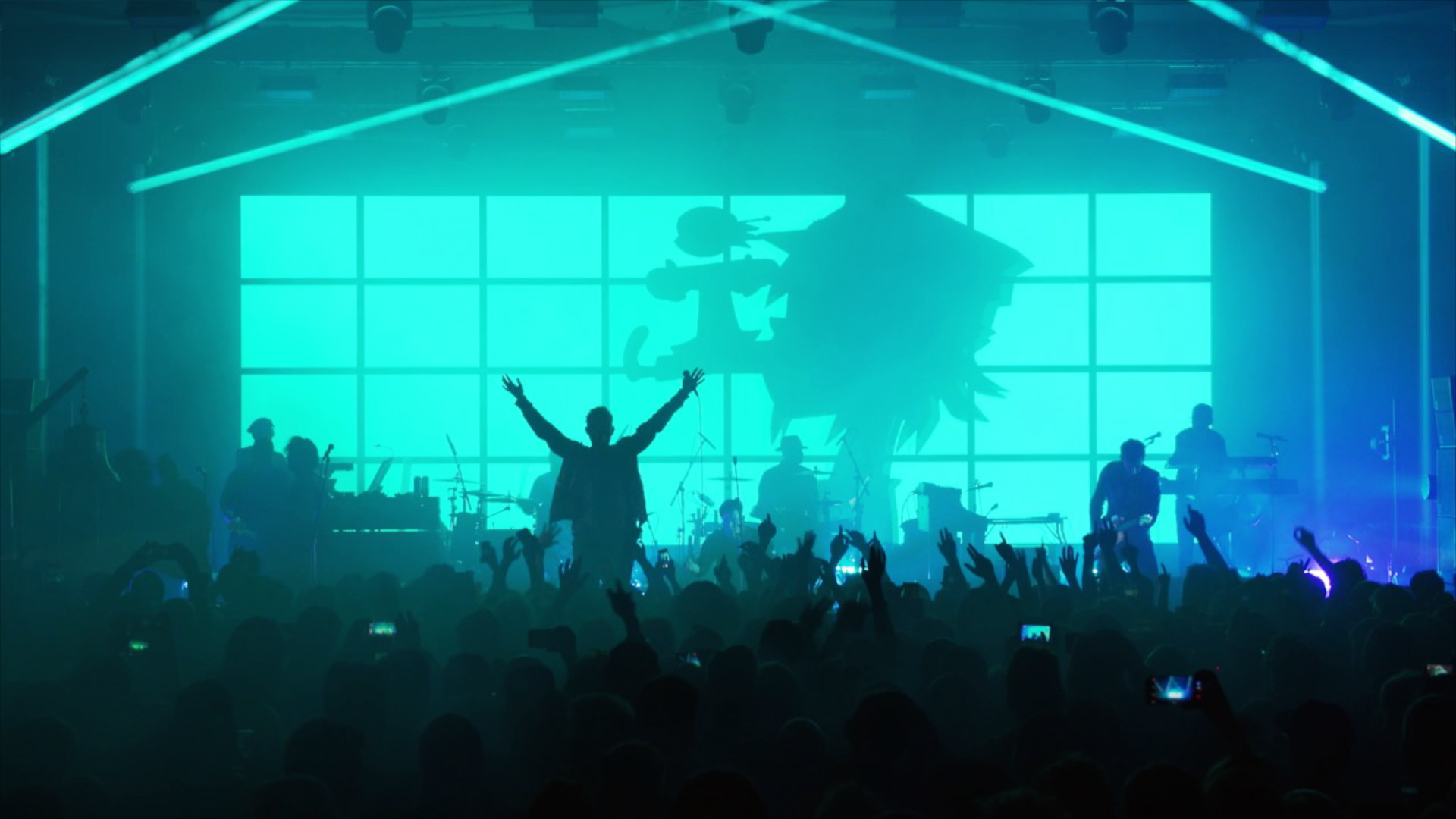 Gorillaz - Humanz Tour Visuals