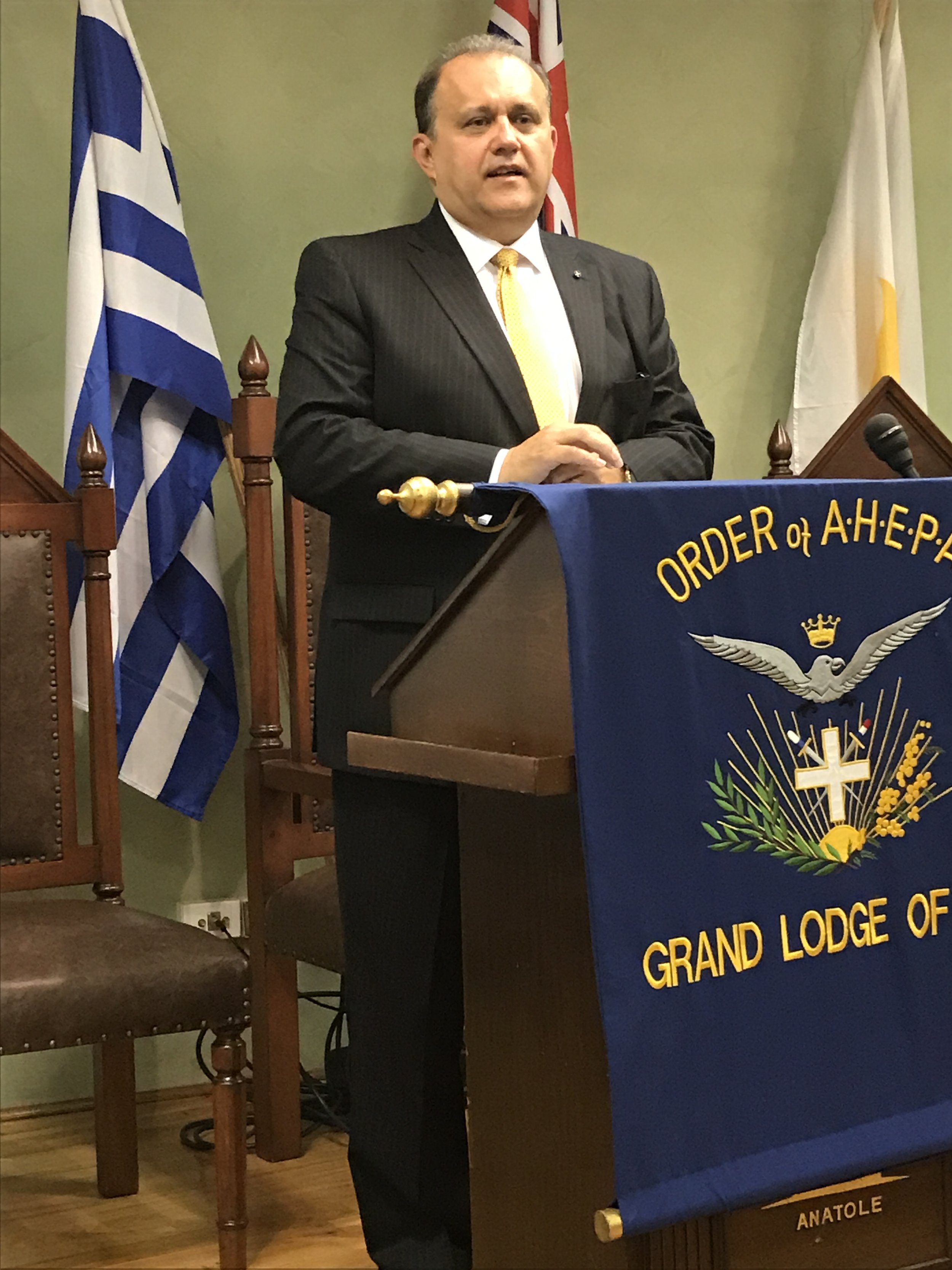 Presentation in Sydney at the AHEPA House