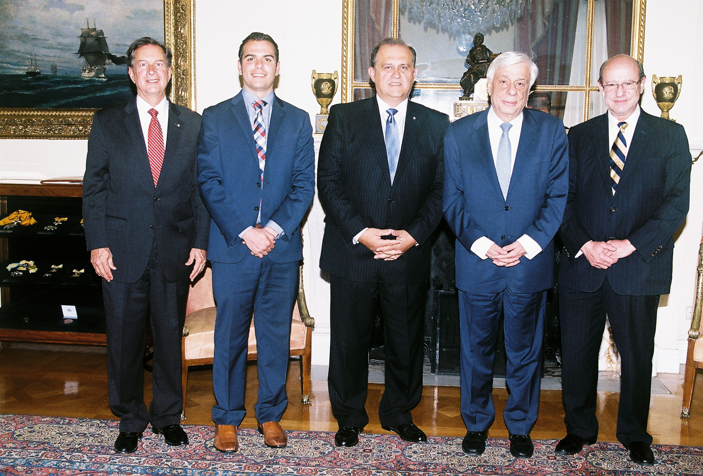 AHI Delegation with President Prokopis Pavlopoulos of Greece