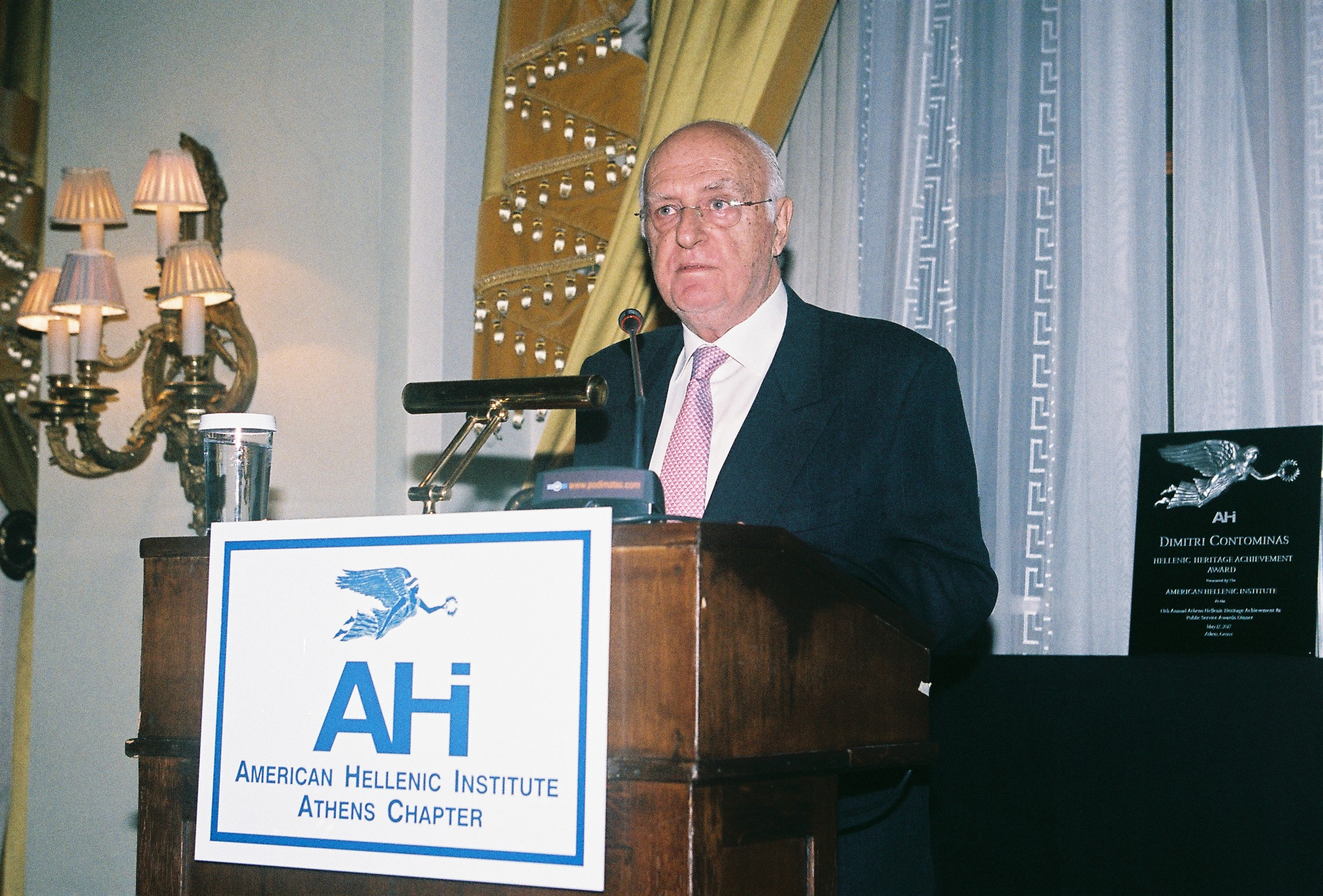 Ilias Malevitis, President of AHI-Greece