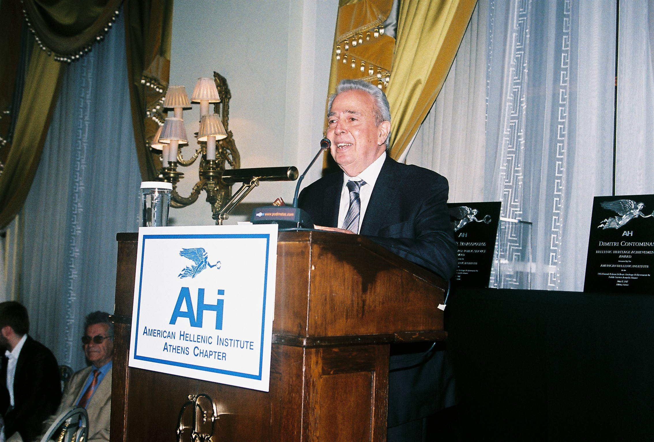 George Economou, President of AHI- Athens Chapter