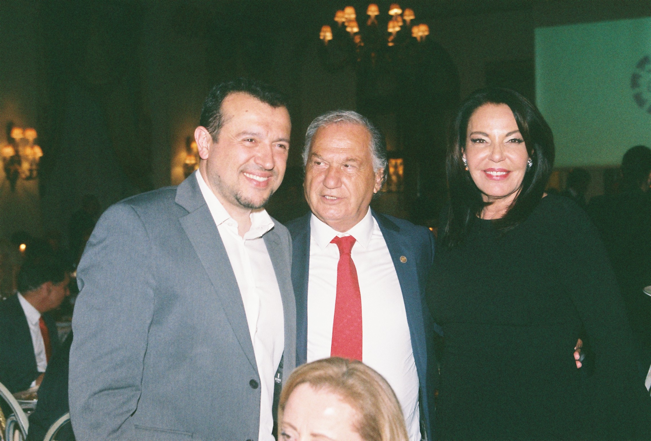 Nikos Pappas, Minister of Digital Policy, Telecommunications and Media; George Mermelas; Katerina P. Panagopoulos