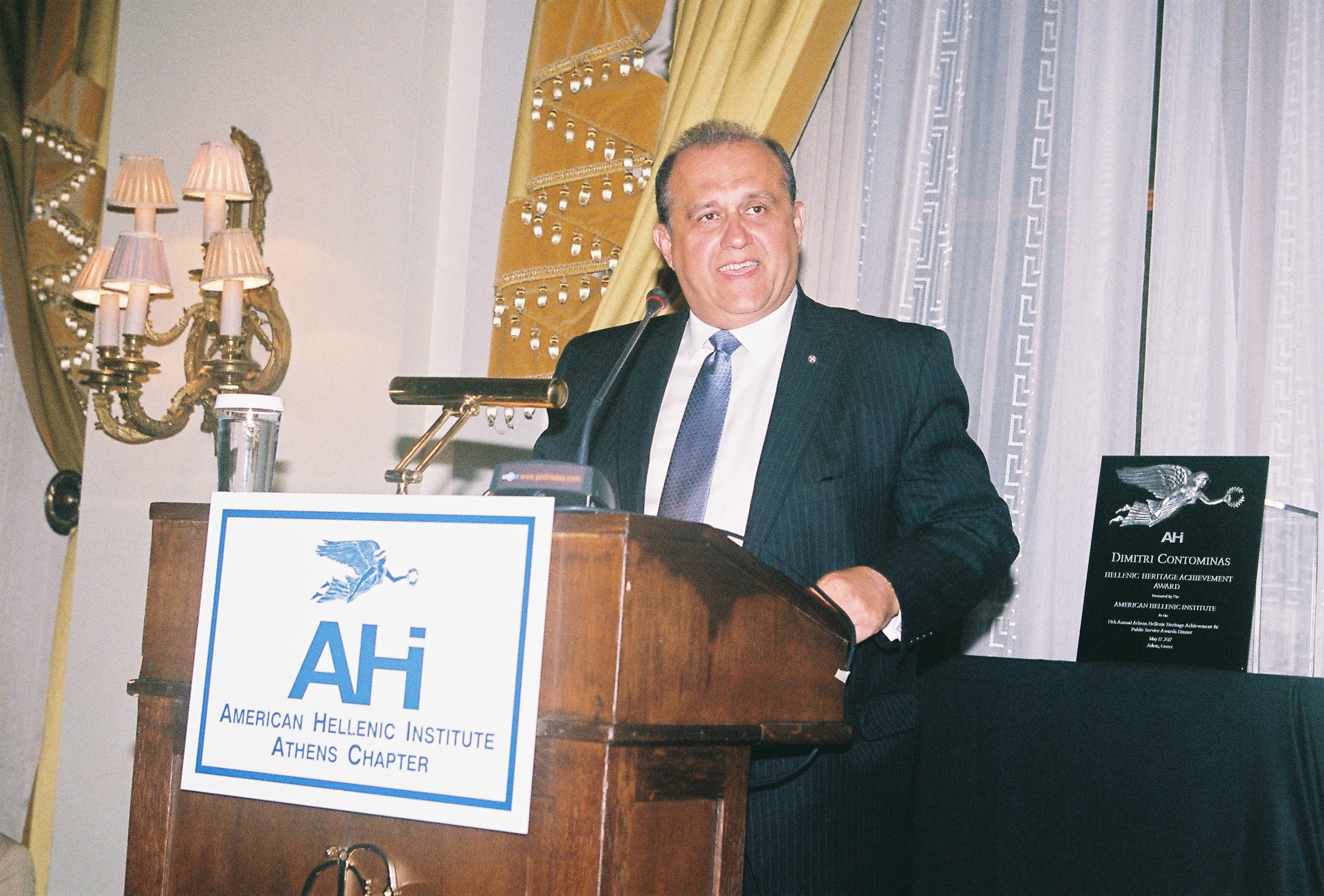 Nick Larigakis, President of the American Hellenic Institute