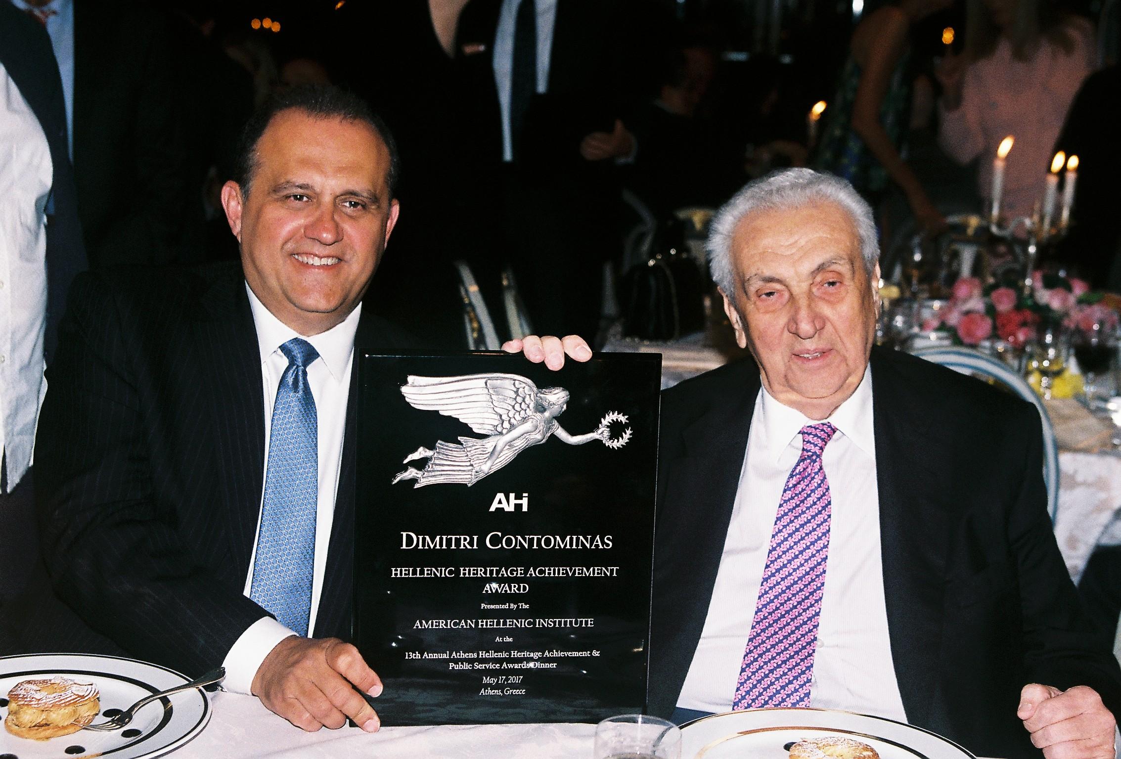 Nick Larigakis and Dimitri Contominas
