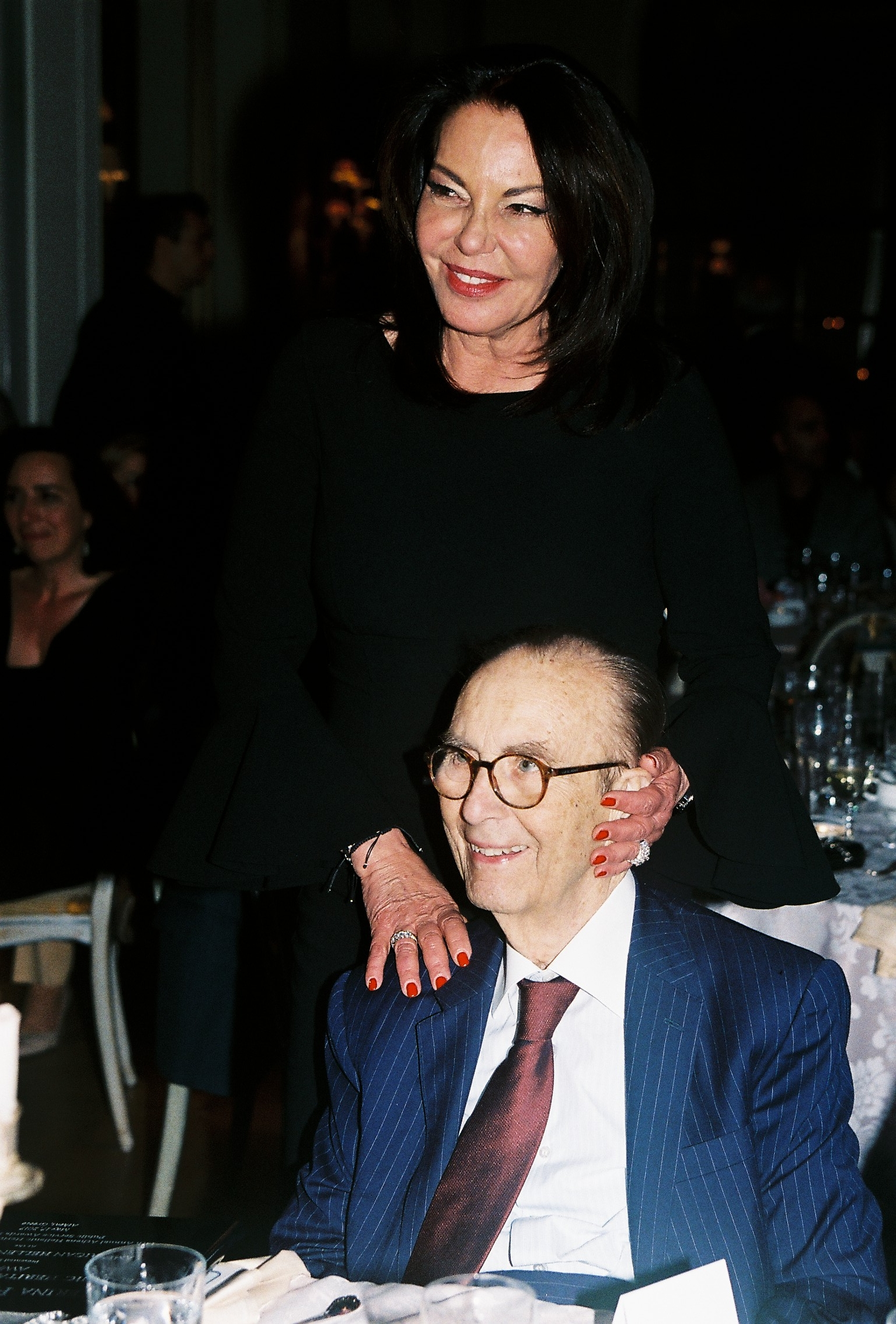 Katerina P. Panagopoulos with her husband Periclis Panagopoulos