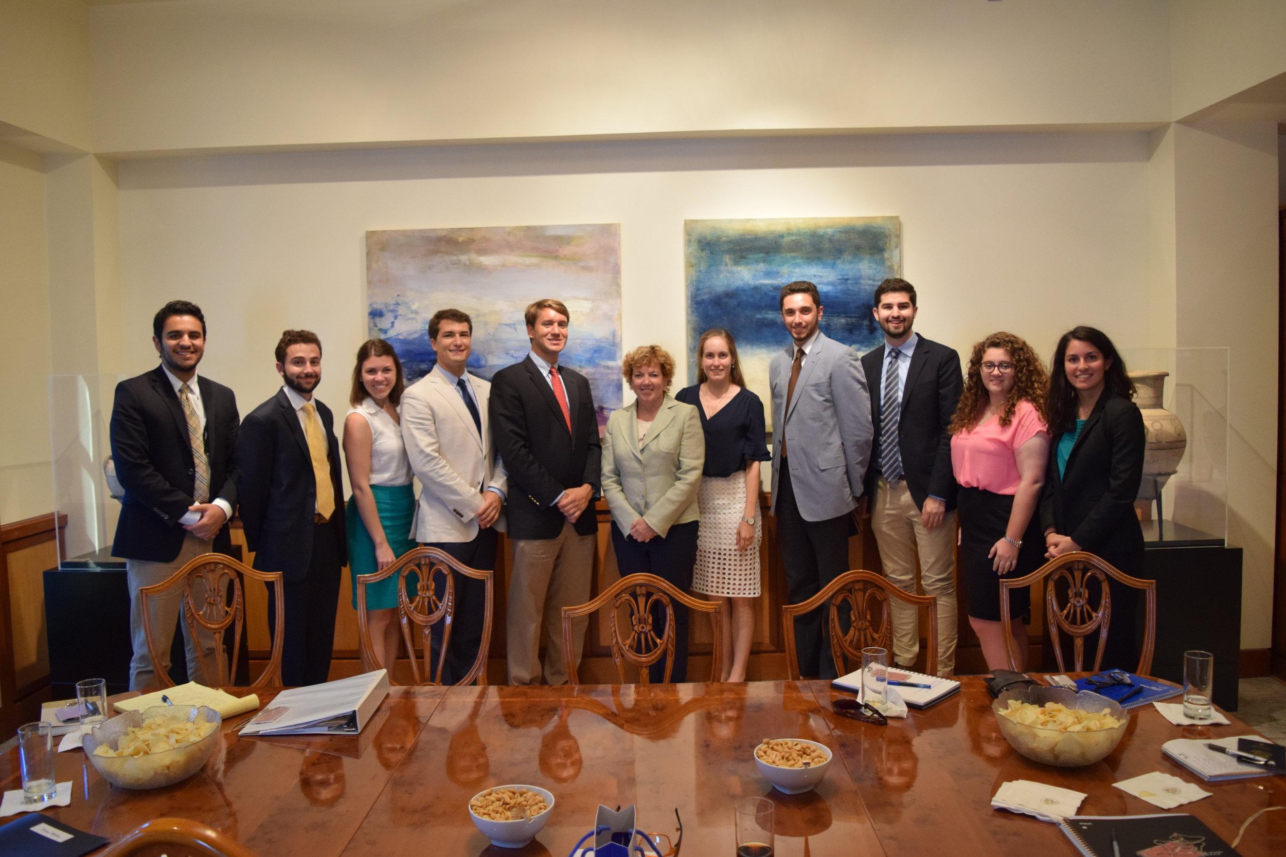 U.S. Ambassador to Cyprus Kathleen Doherty.