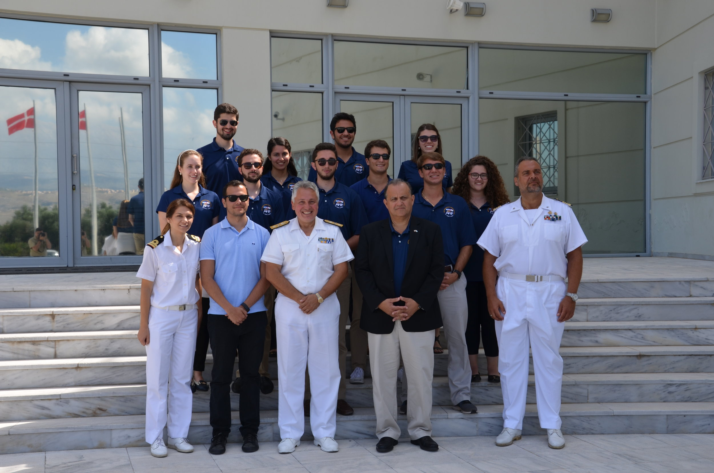 Commodore Georgios Tsogkas, Commander of the NATO Maritime Interdiction Operational Training Center (NMIOTC).