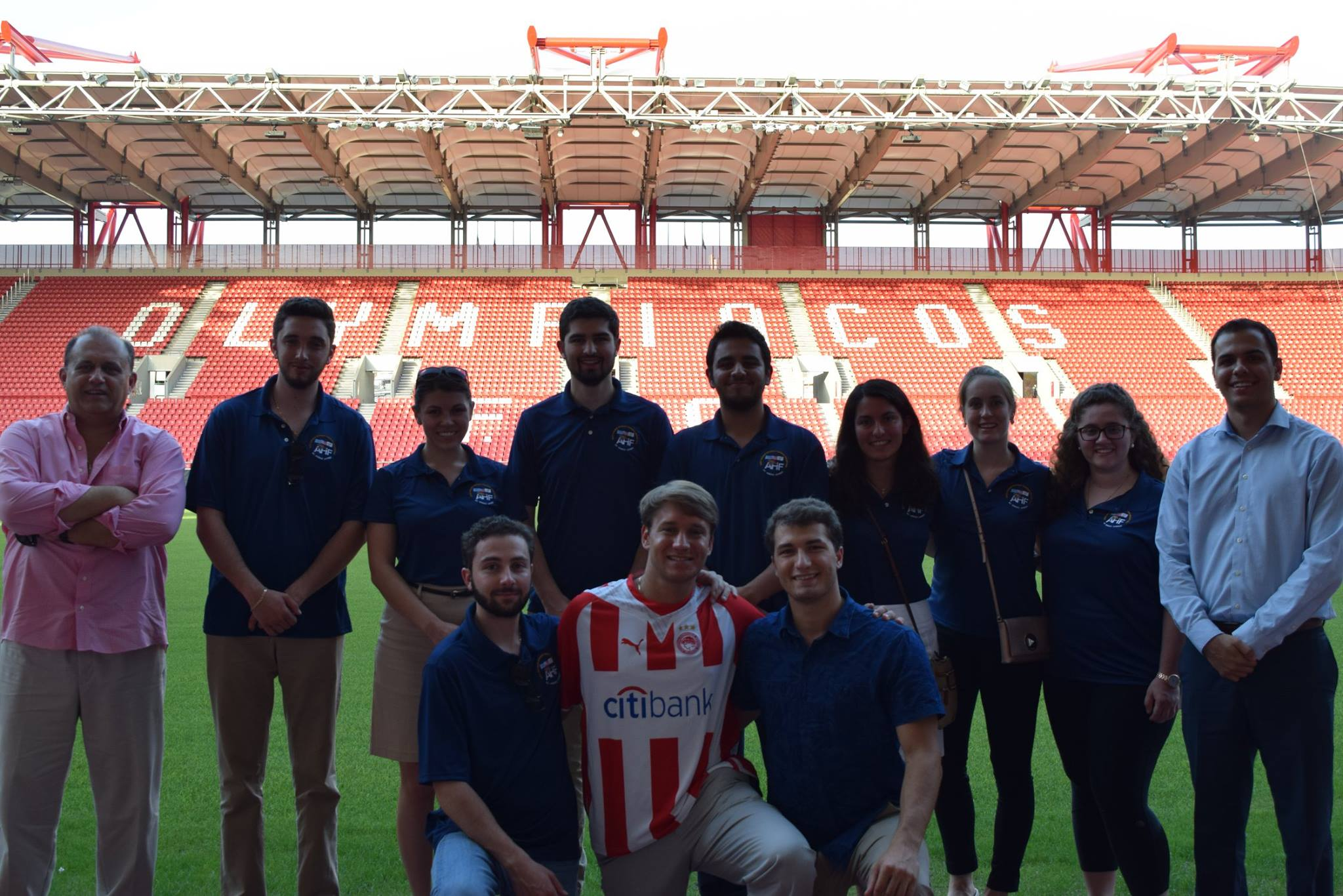 Dinner at Vammos restaurant, sponsored by Olympiacos President Evangelos Marinakis and hosted by Domenicos Masoulas.