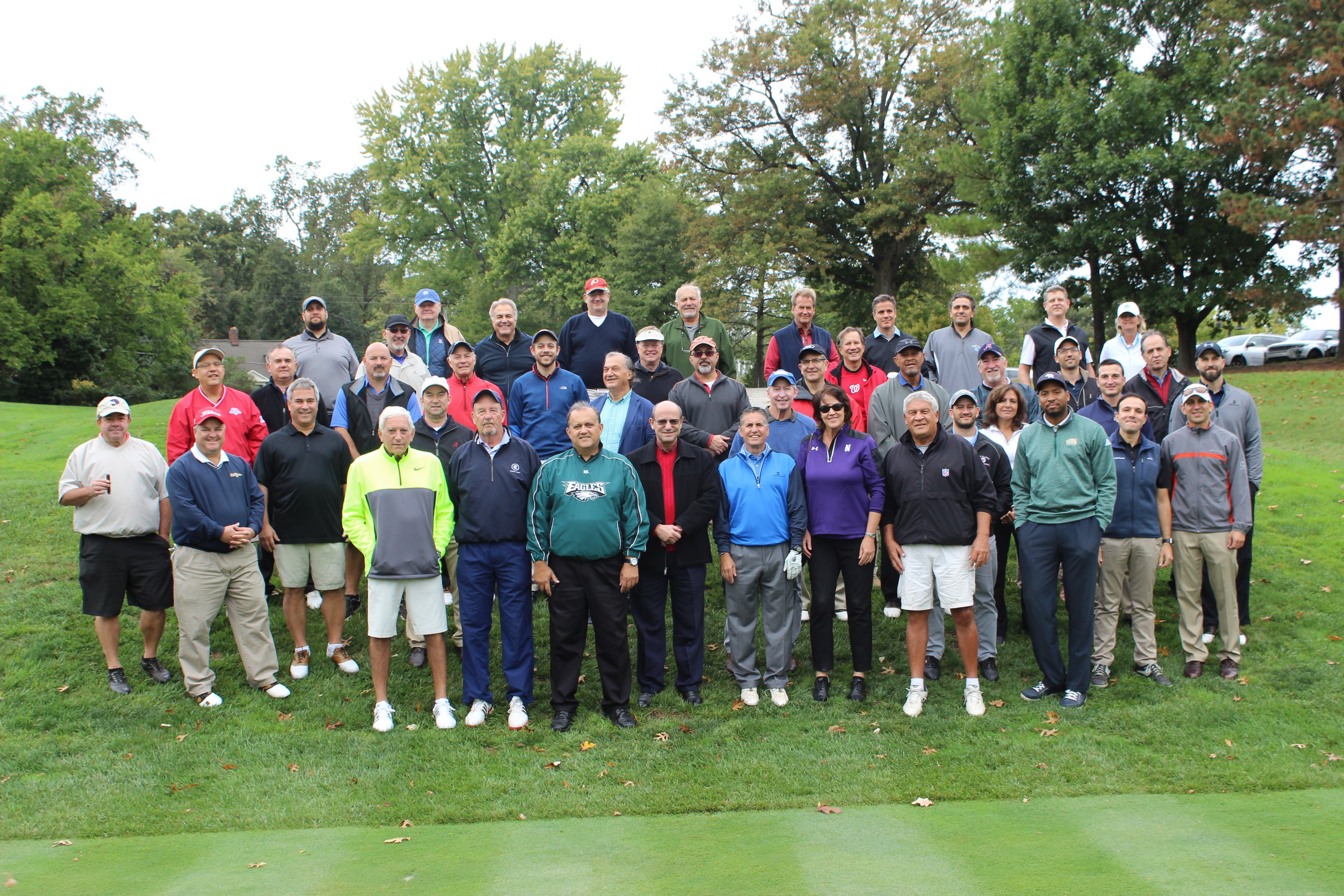 14th Annual AHI Golf Classic participants.