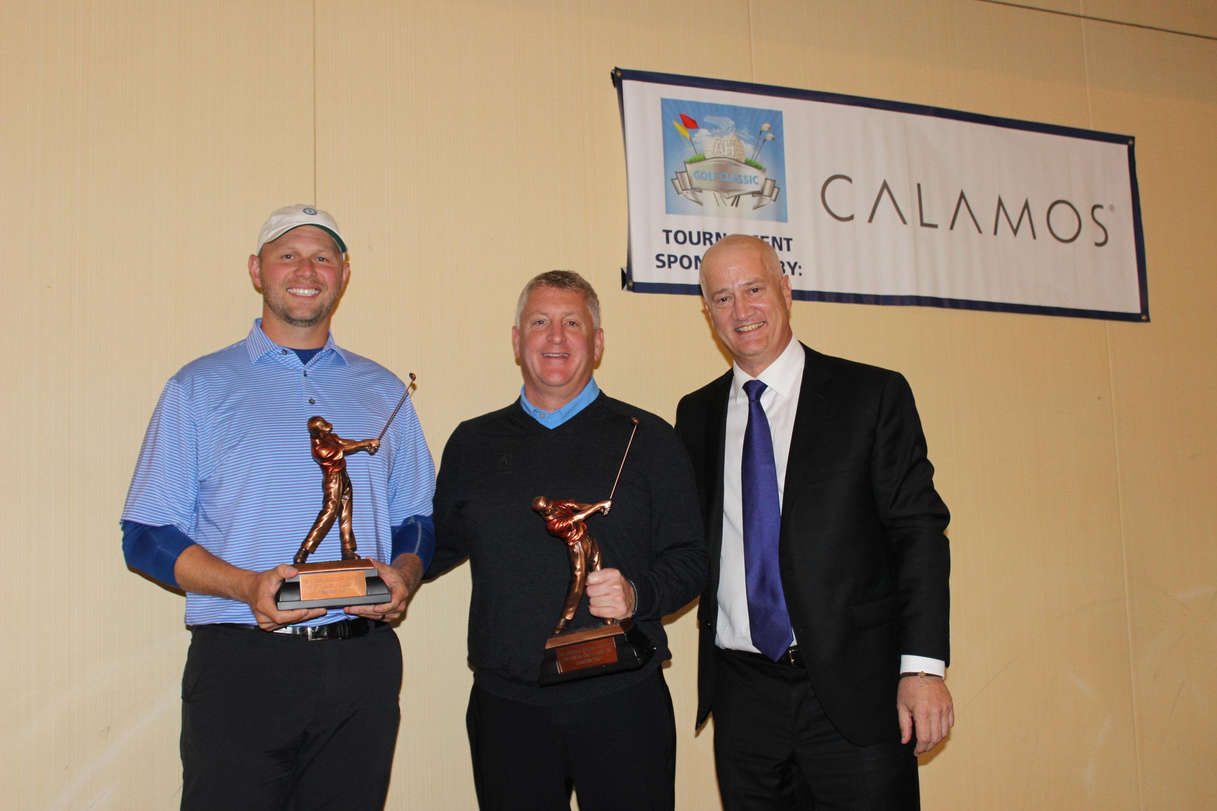 1st Place Finishers: Chris Christou, James Tomaseski, & Allen Lyubinsky.
