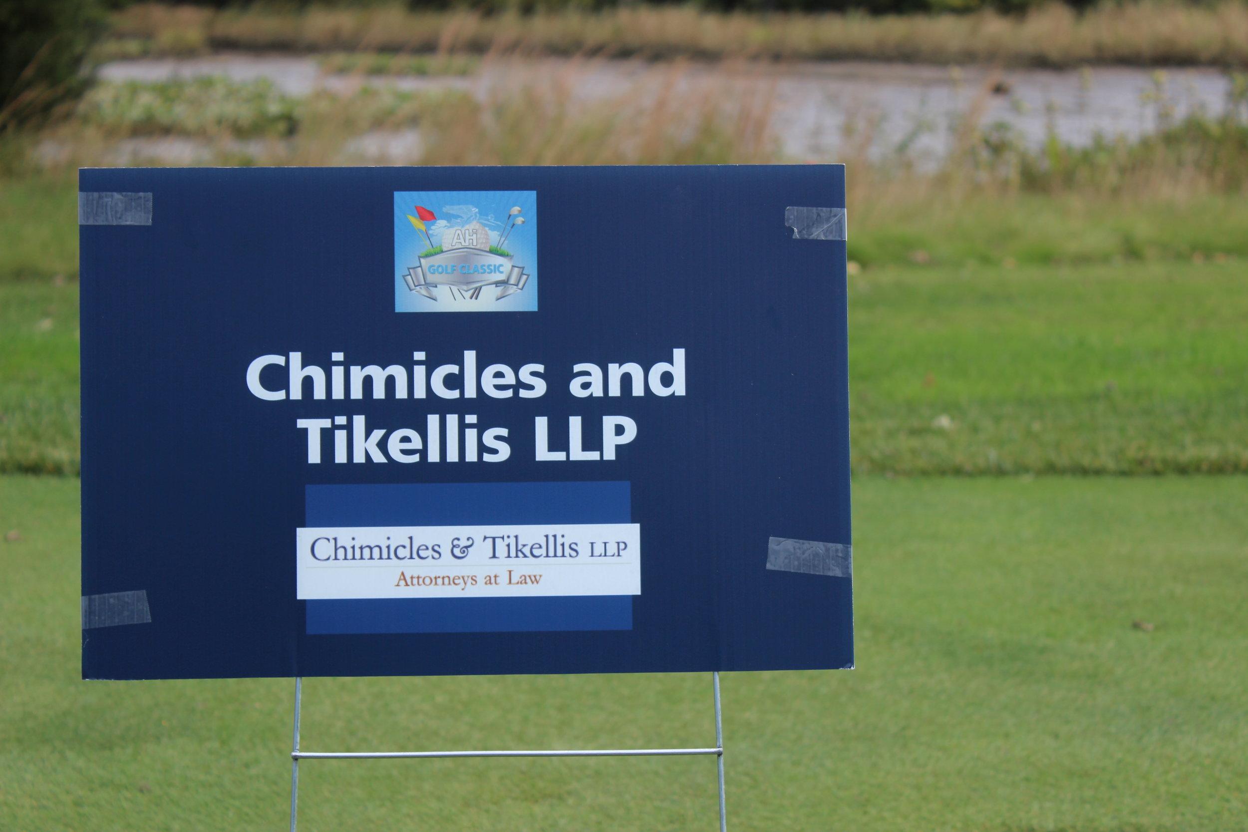 Hole Sponsor, Chimicles & Tikellis, LLP.
