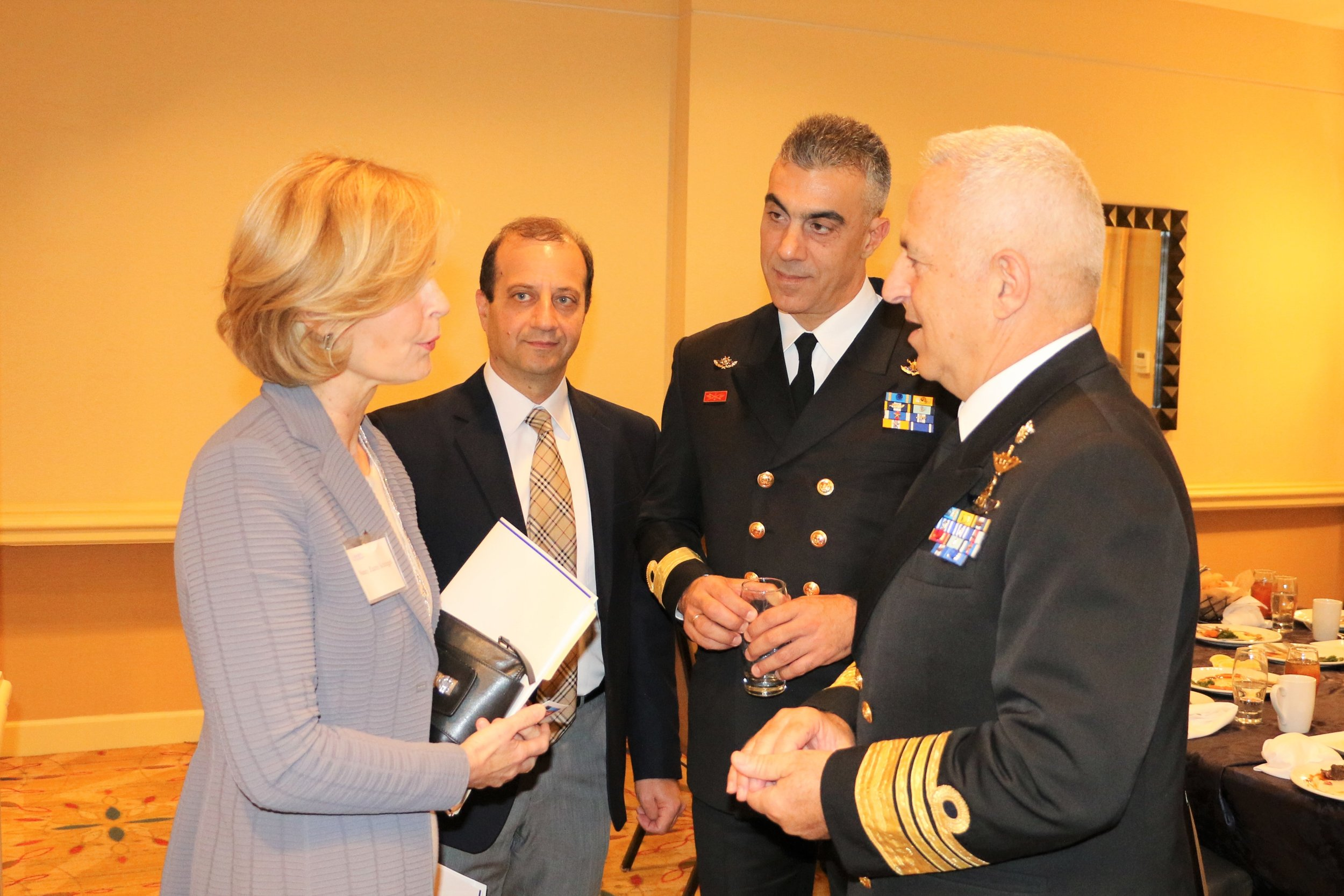 Admiral Apostolakis discusses further cooperation between the United States and Greece.