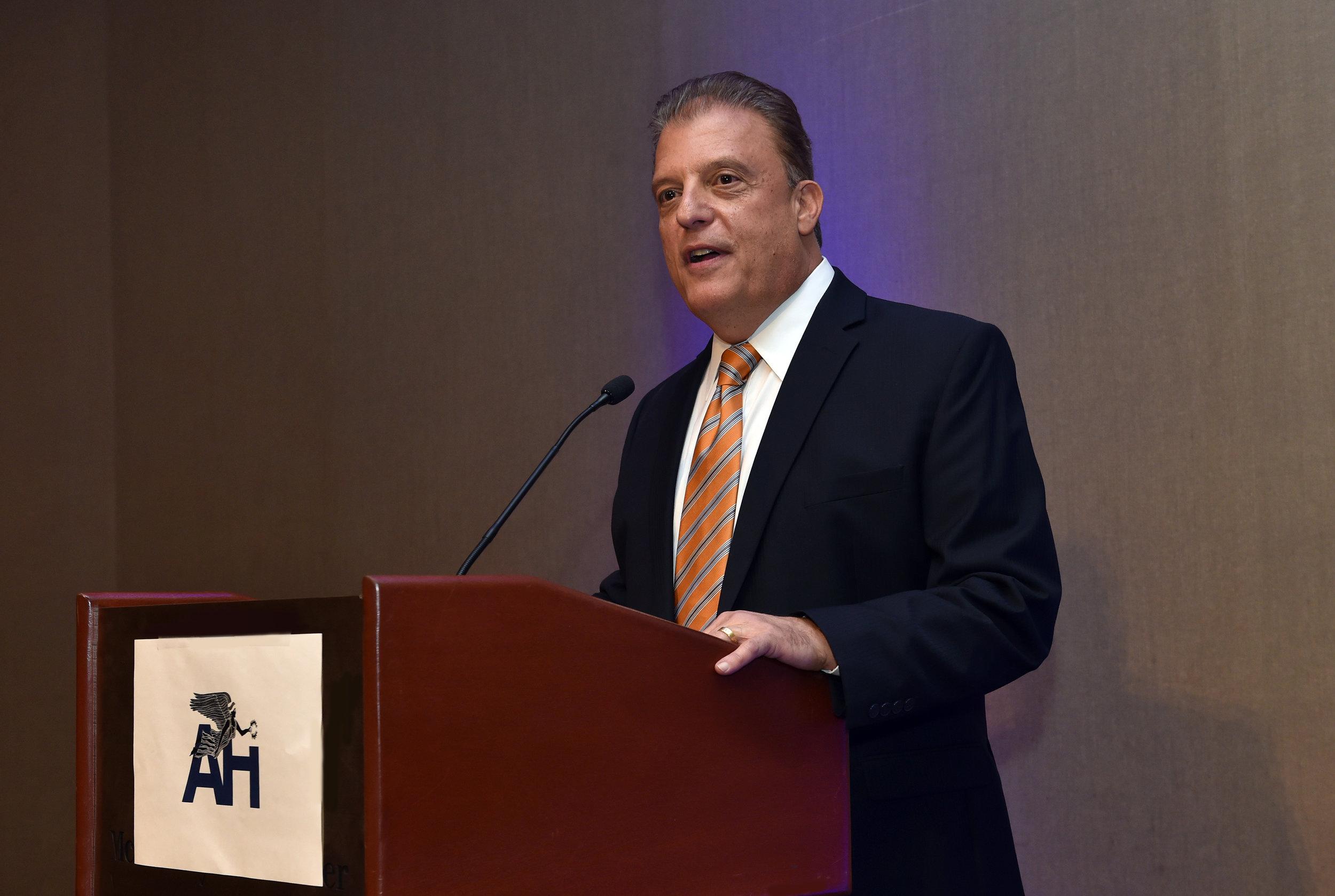 Larry Michael, Senior Vice President of Media at the Washington Redskins.