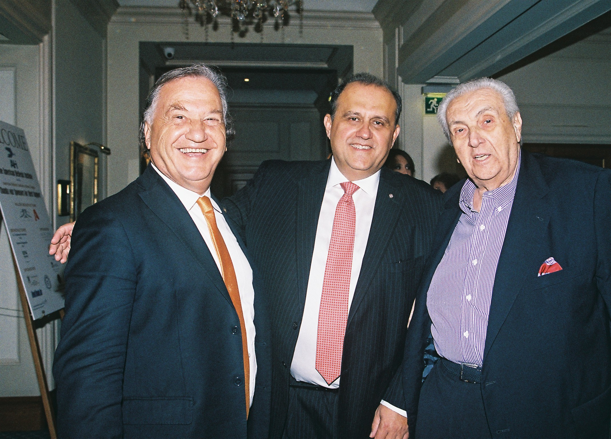George Mermelas, Nick Larigakis, and Dimitri Contominas.