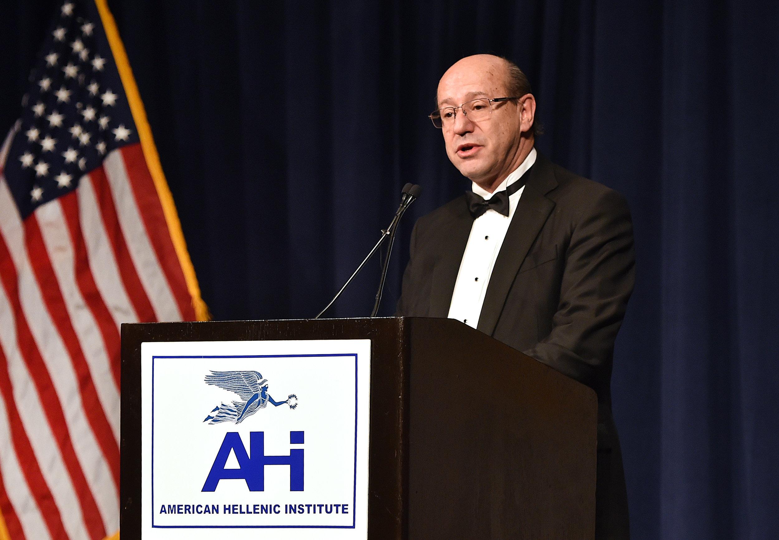AHI Foundation President Constantine Galanis.