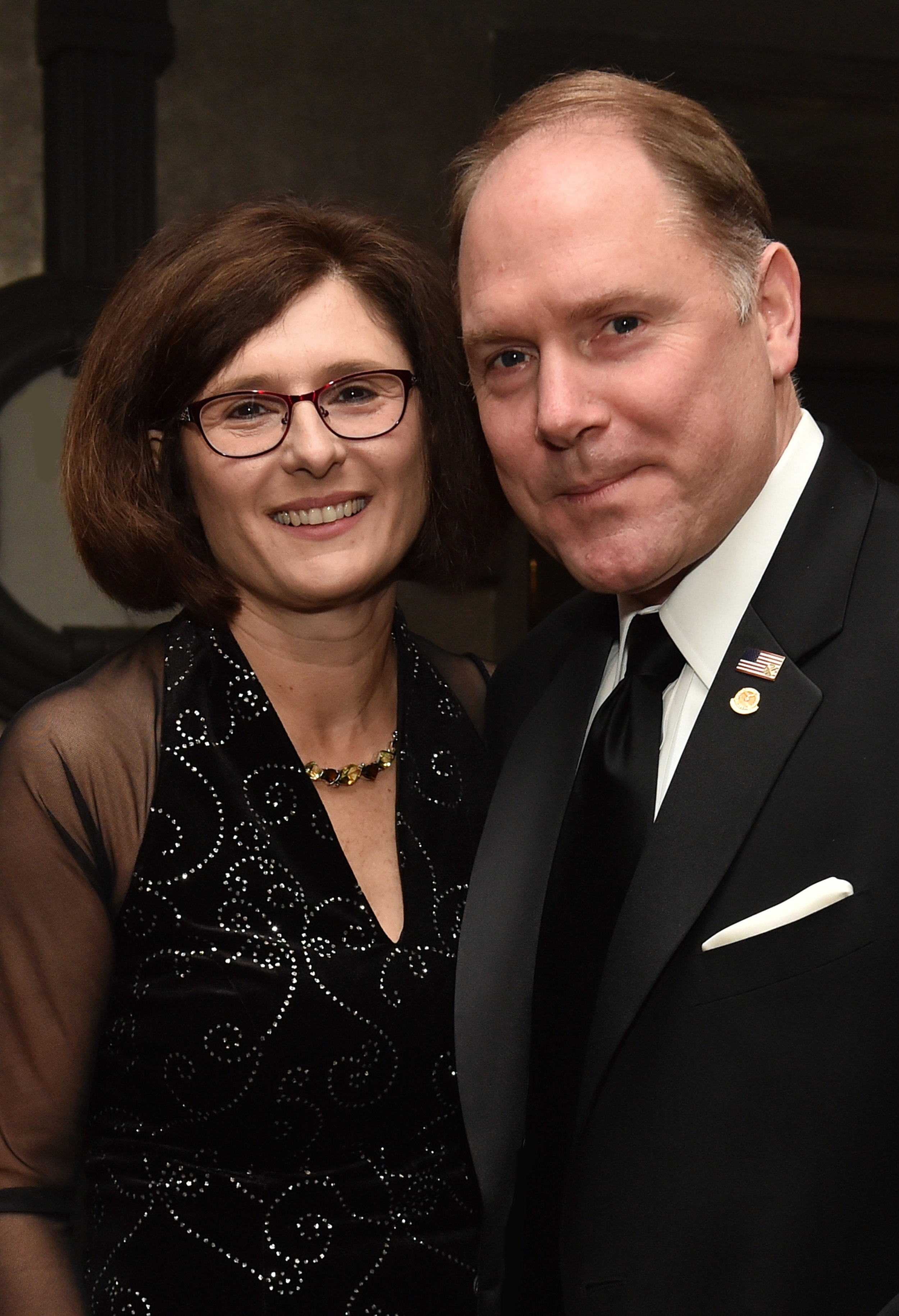 Carl Hollister, Supreme President of the Order of AHEPA and his wife.