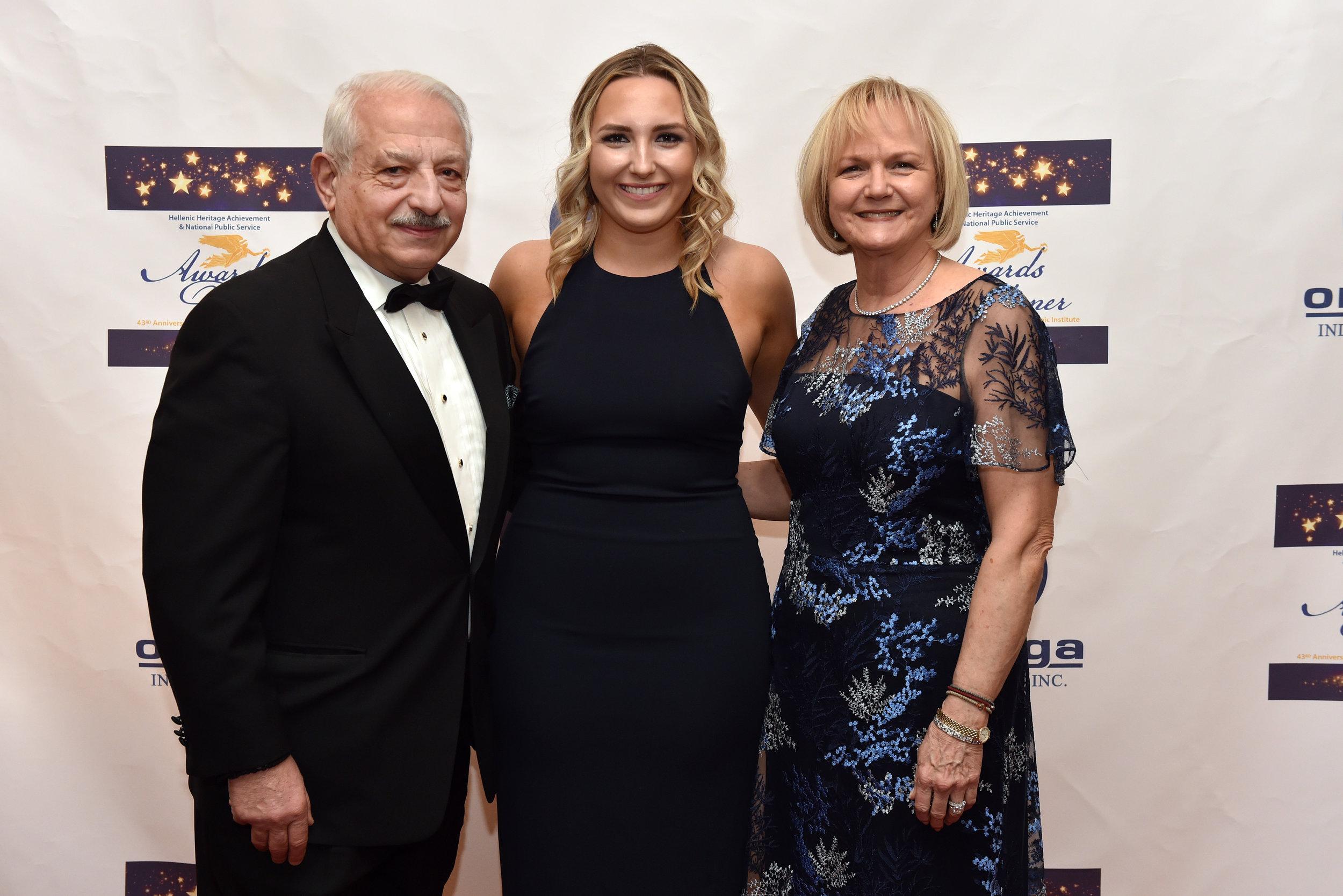 Steve Veletsis, Alexandra Veletsis, Berit Veletsis.