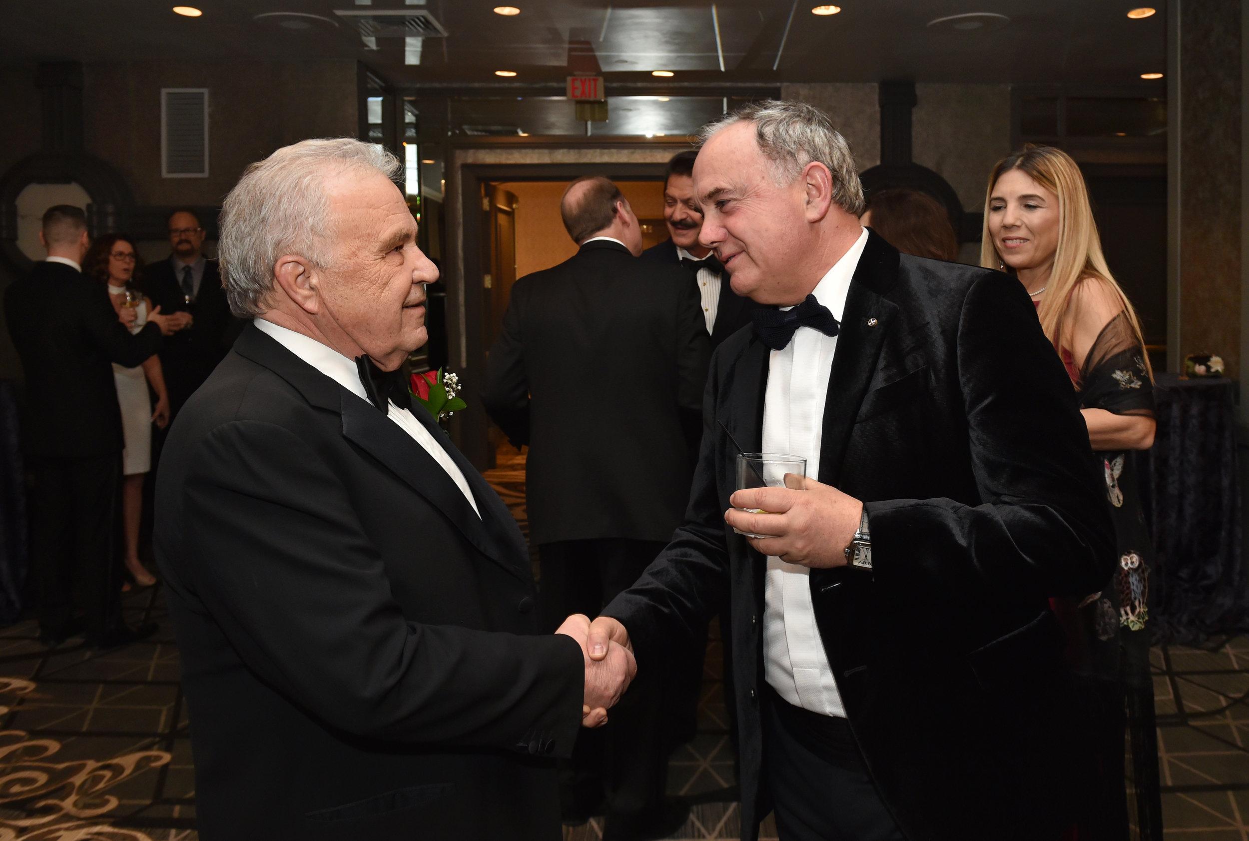 Isidoros Garifalakis and Demitri Halakos.