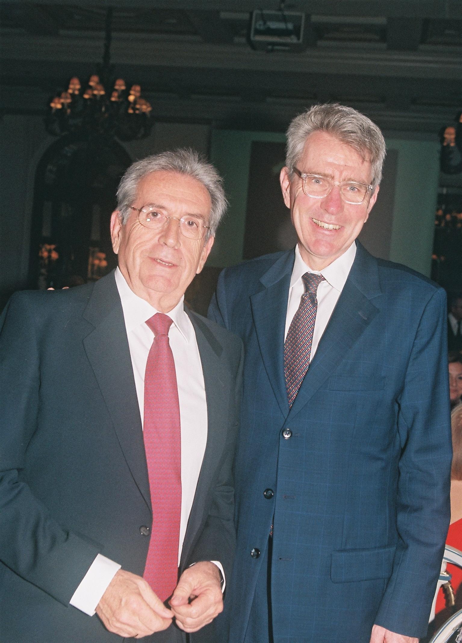 Dr. Behrakis and Ambassador Pyatt.