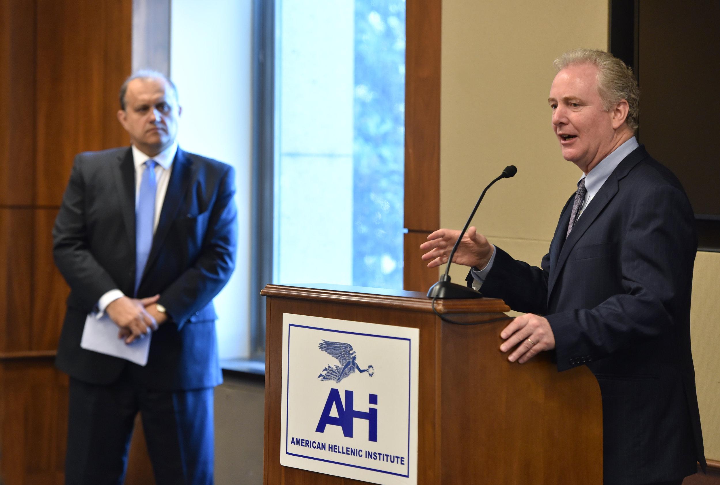 Senator Chris Van Hollen (D-MD)