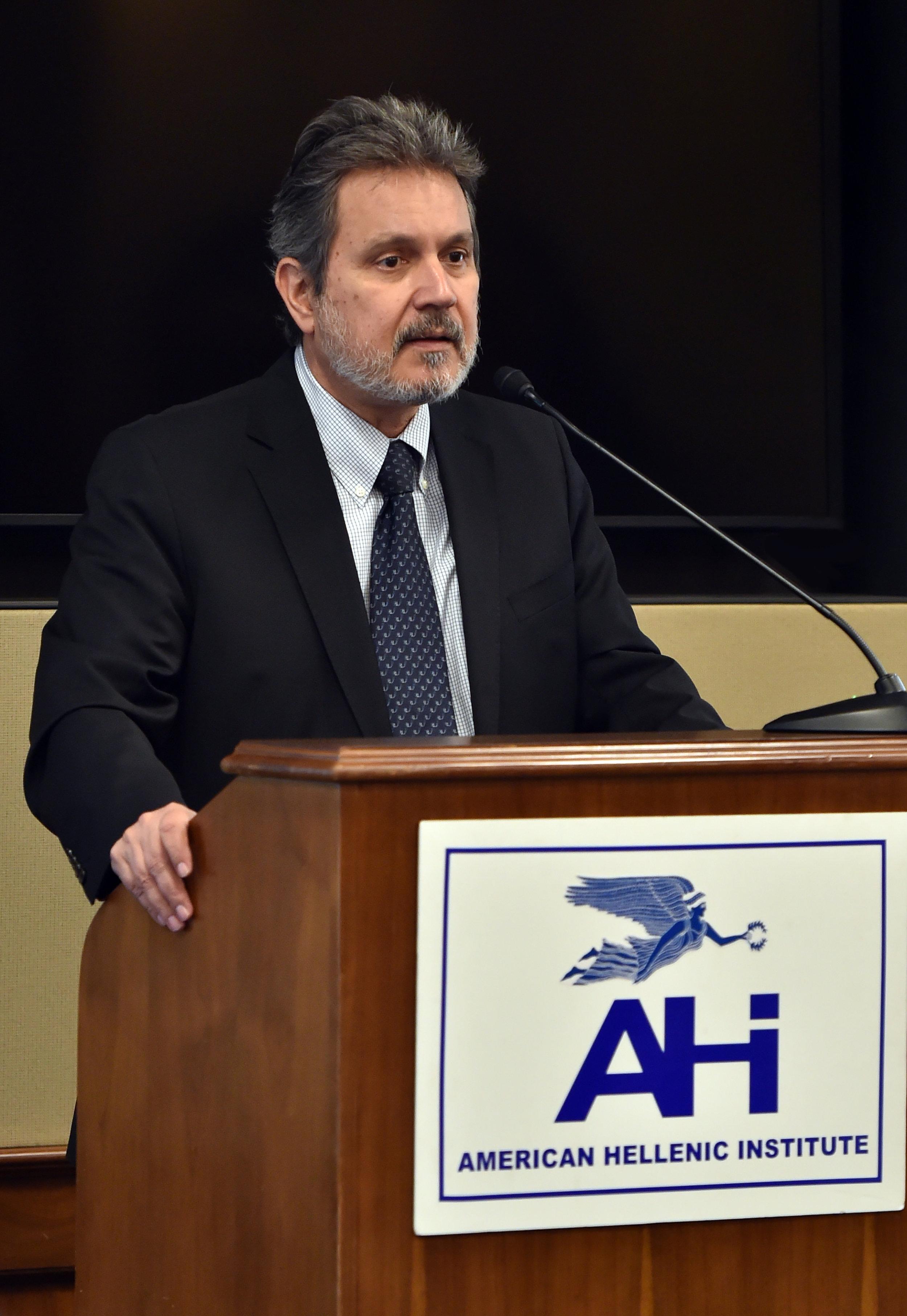 Haris Lalacos, Ambassador of Greece to the U.S.A.