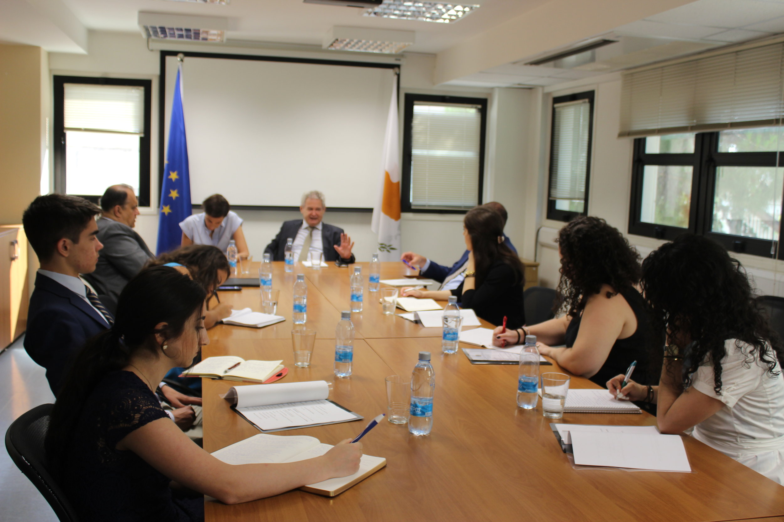 Meeting with the Greek Cypriot Negotiator for the Cyprus Problem, Mr. Andreas Mavroyiannis