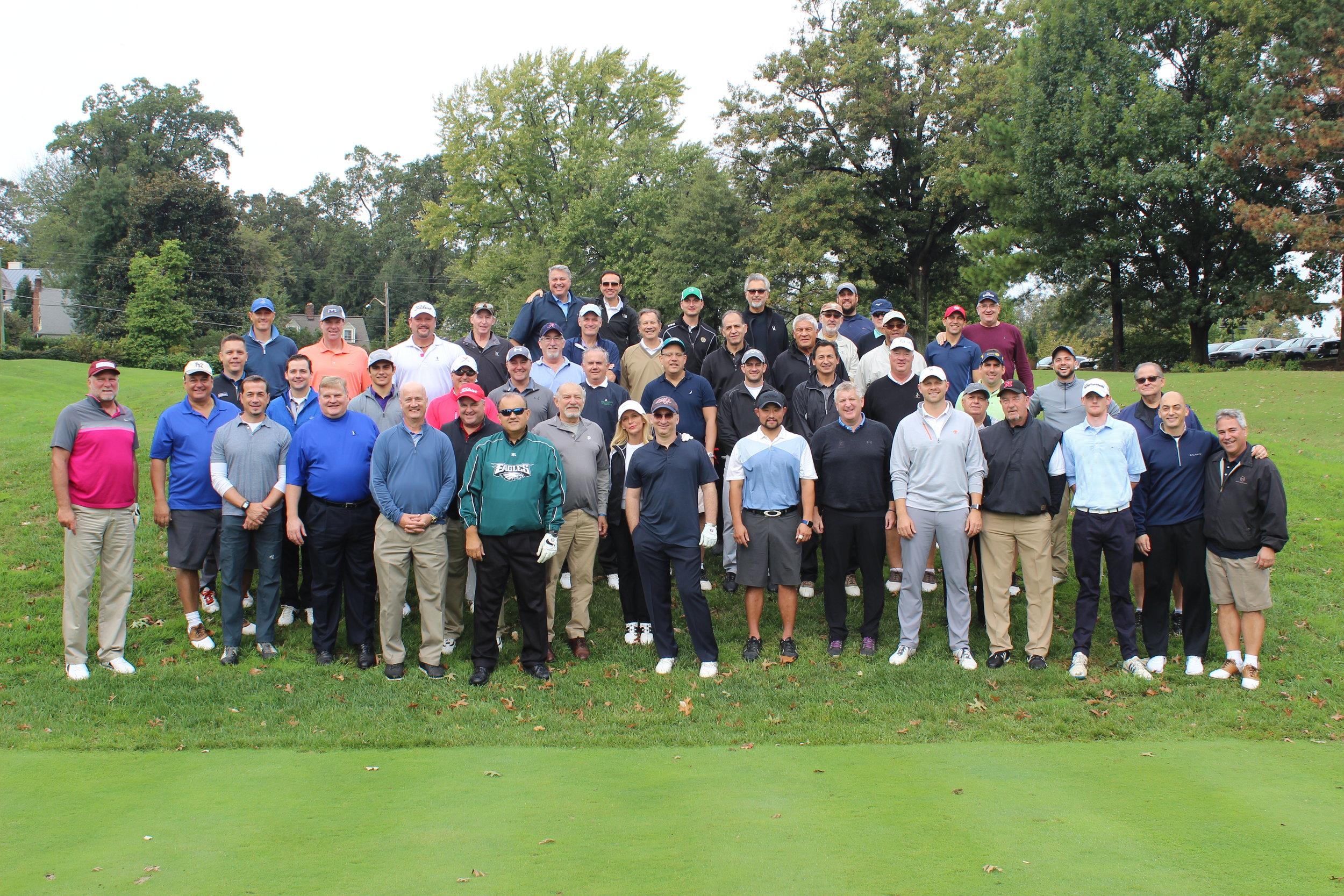 AHI 15th Annual Golf Classic participants.