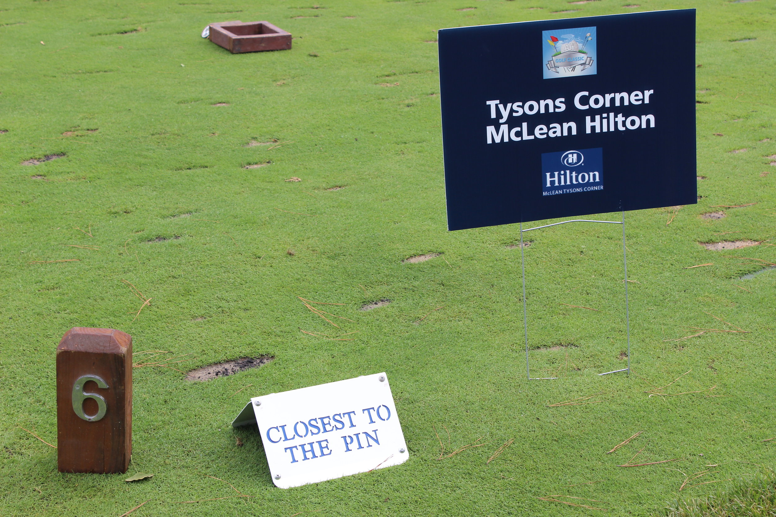 Tyson's Corner McLean Hilton, Hole Sponsor.