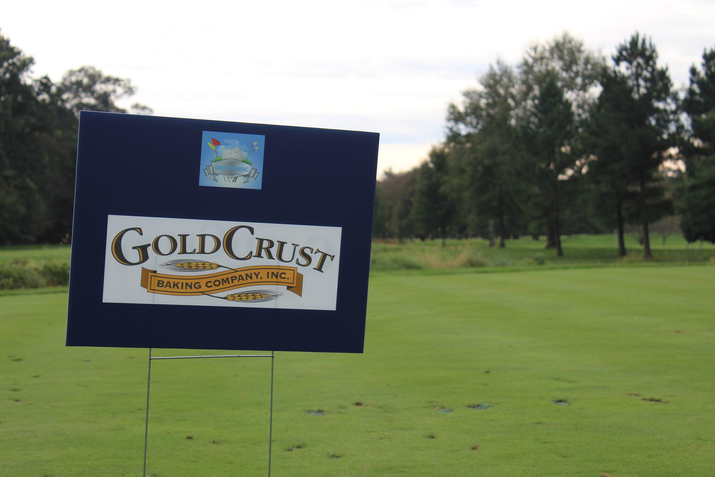 Gold Crust Bakery, Hole Sponsor.