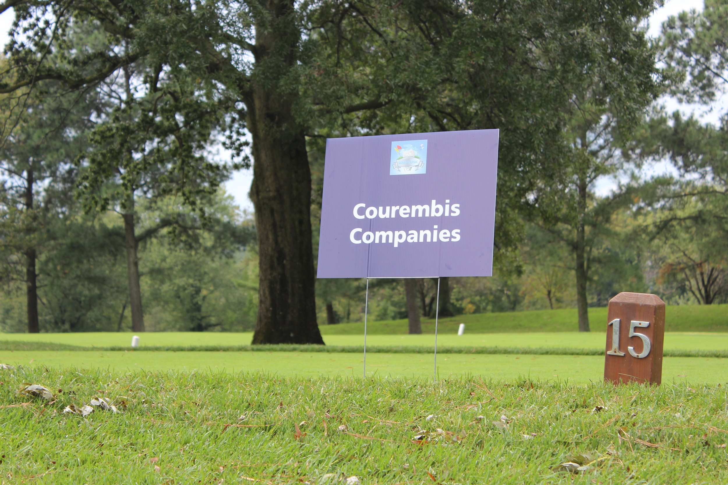 Courembis Companies, Hole Sponsor.