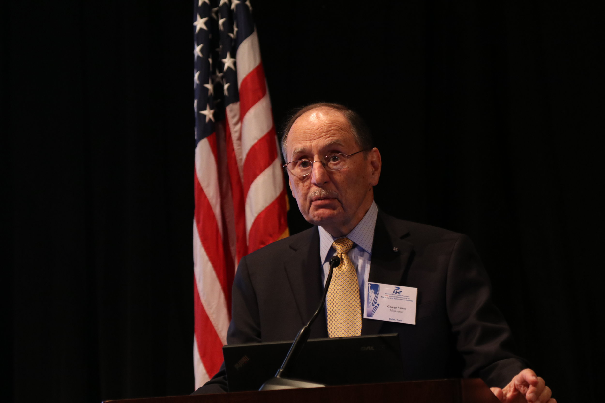 """George Vittas serves as moderator of the panel, """"Current Perspectives on Current Challenges."""""""