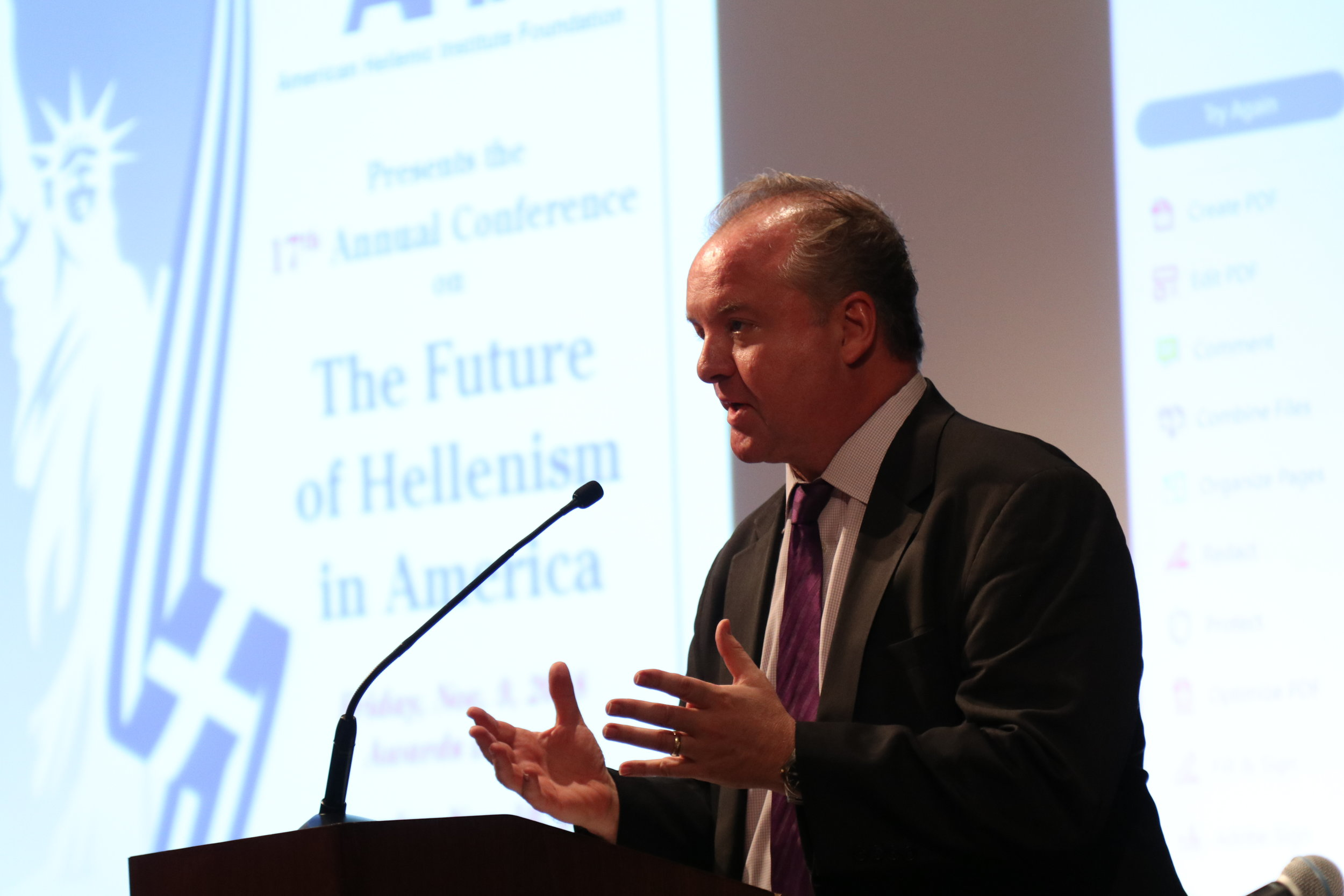 Eric Fusfield, deputy director, B'nai B'rith International Center for Human Rights and Public Policy.