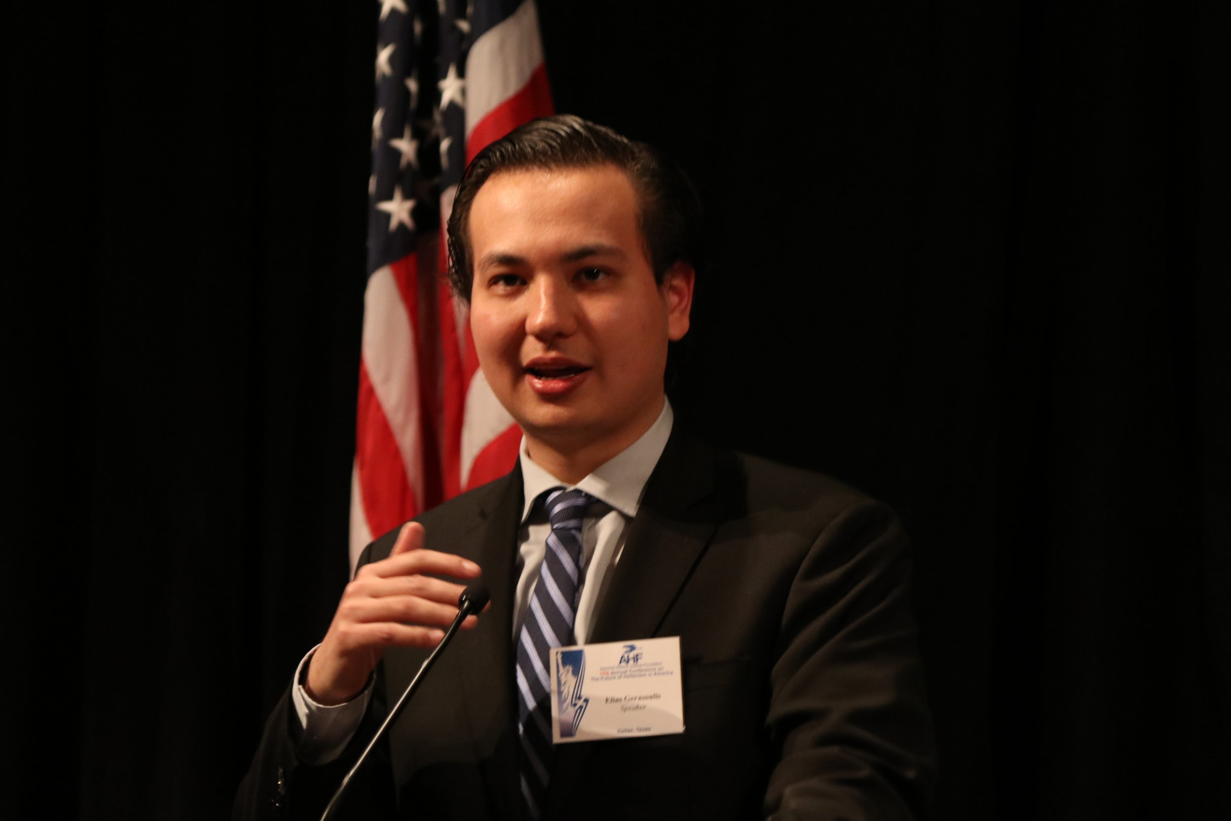 Elias Gerasoulis, AHI legislative assistant.