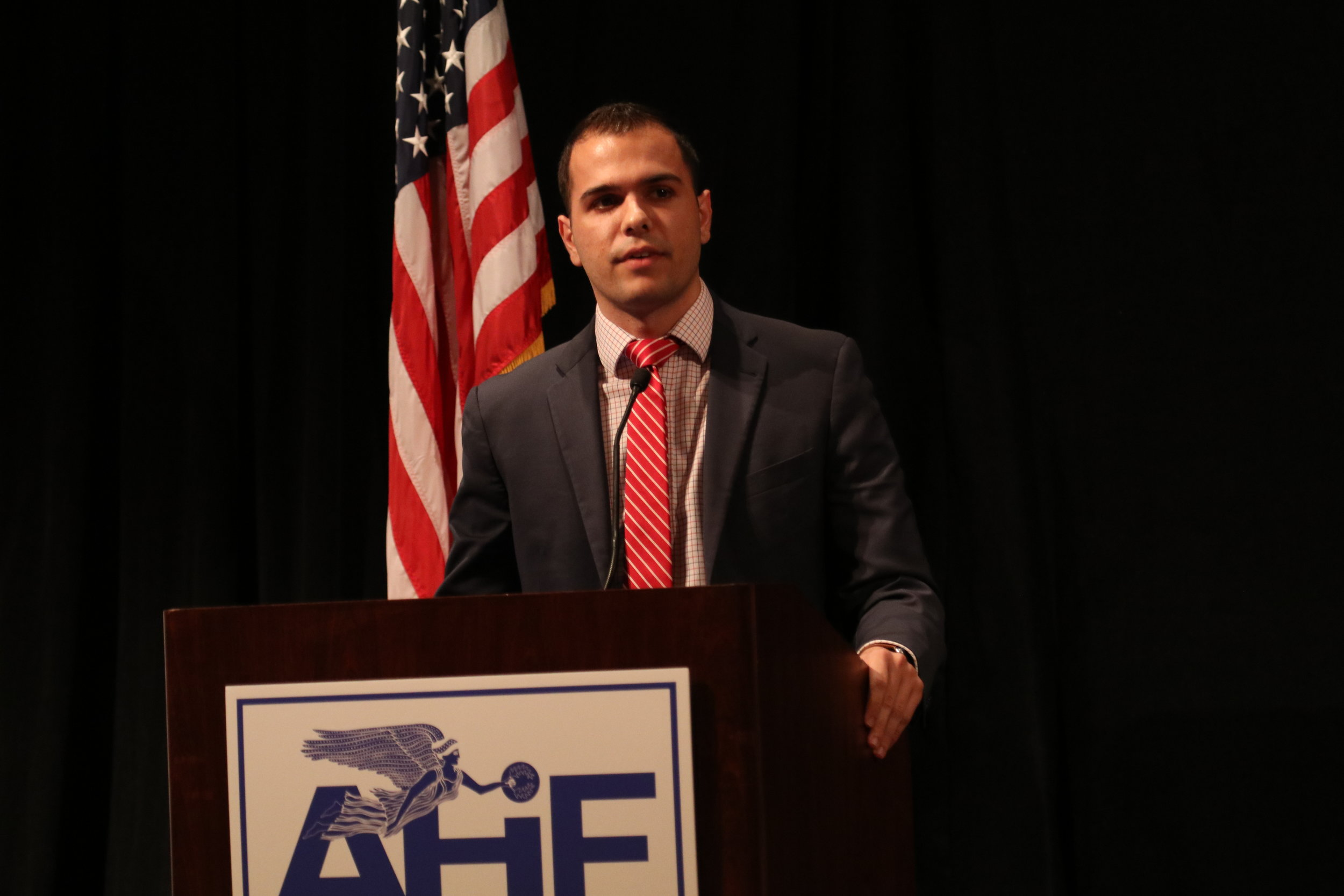 Peter Milios, AHI legislative director.