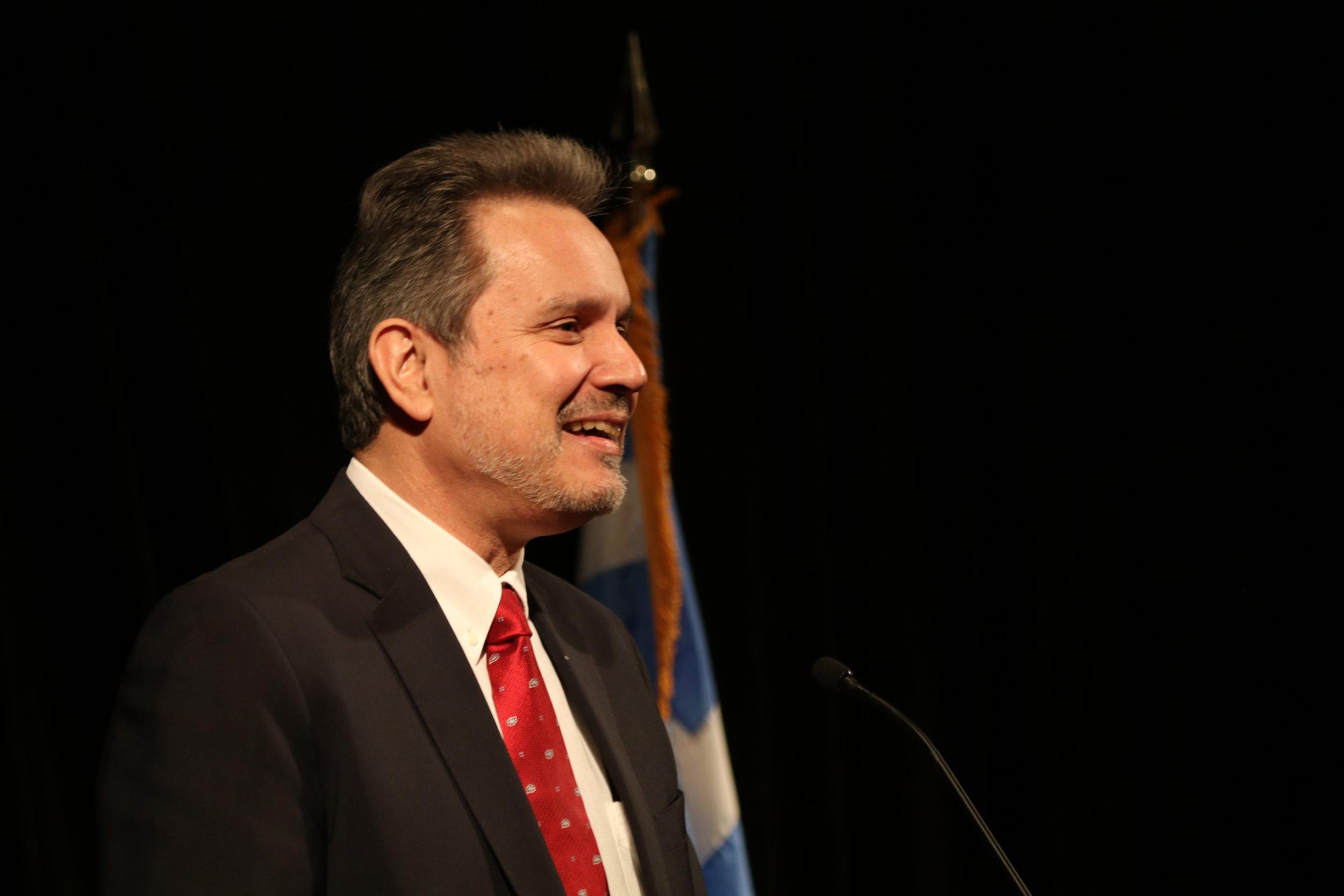 Ambassador Haris Lalacos, Greek Ambassador to the United States, provides the Keynote address.