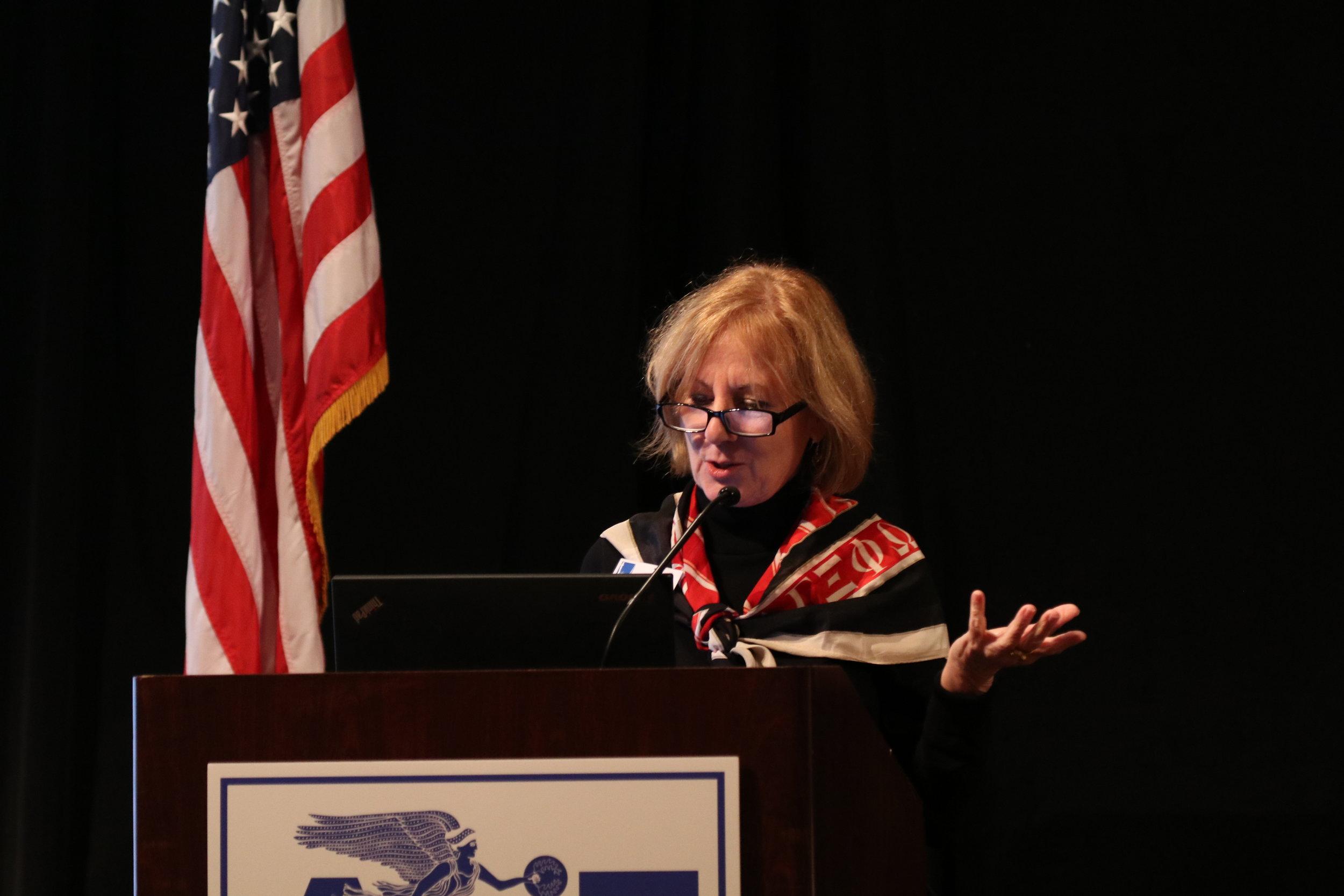 Dr. Angelyn Balodimas-Bartolomei, PDF, professor of Education, North Park University, Illinois