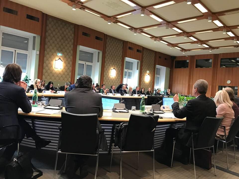 President Larigakis Attends OSCE Meeting