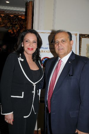 President Larigakis With Katerina Panagopoulos, Special Advisor to the Prime Minister on Hellenism of the Diaspora