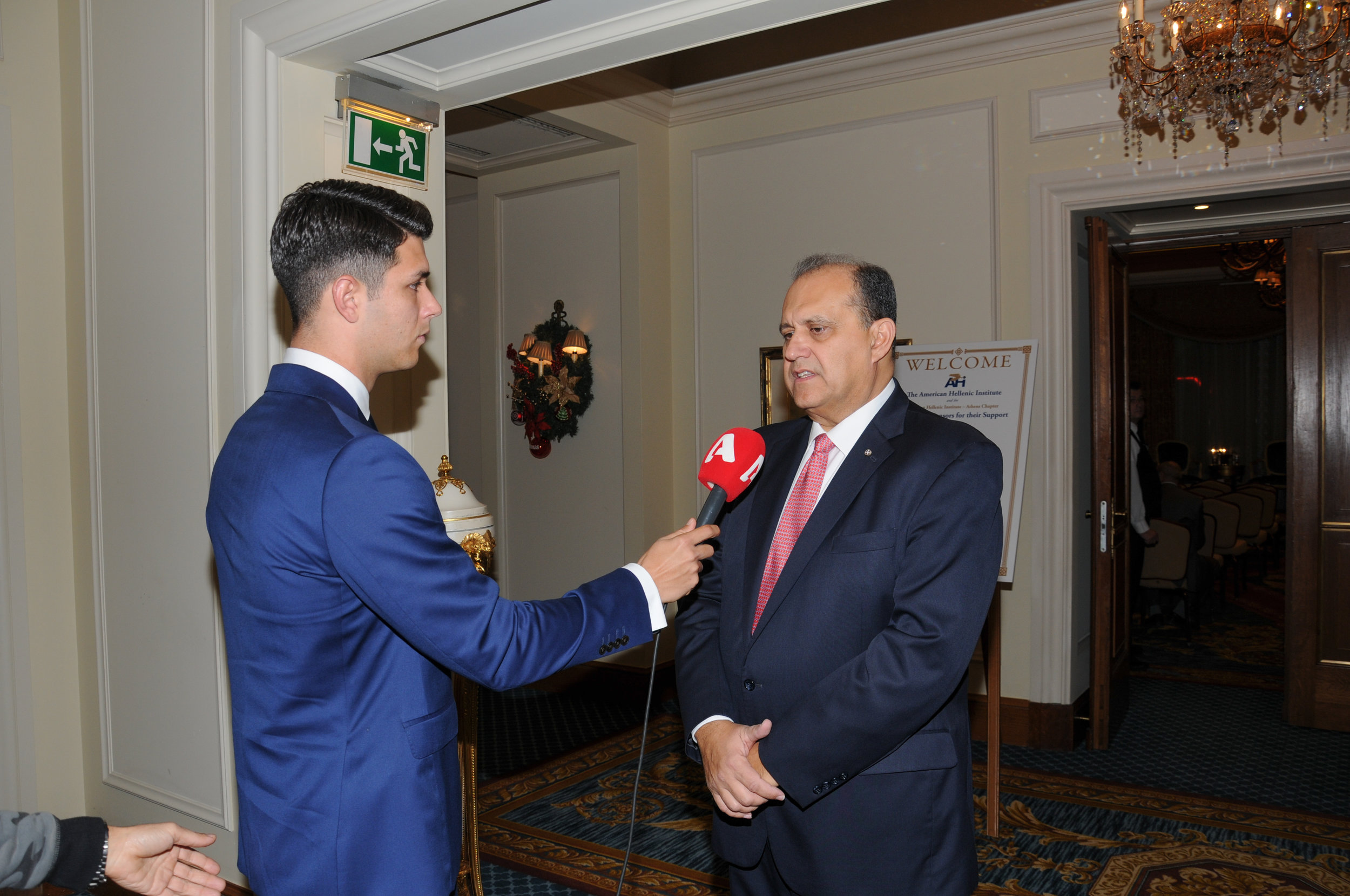 President Larigakis Interview With Alpha TV