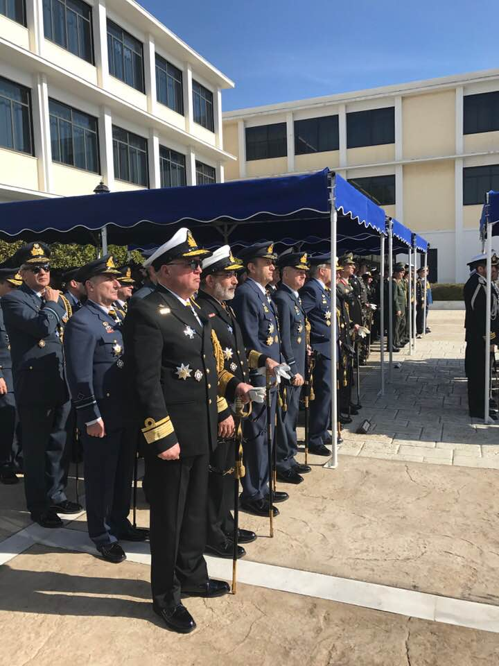 Officers At The Ceremony