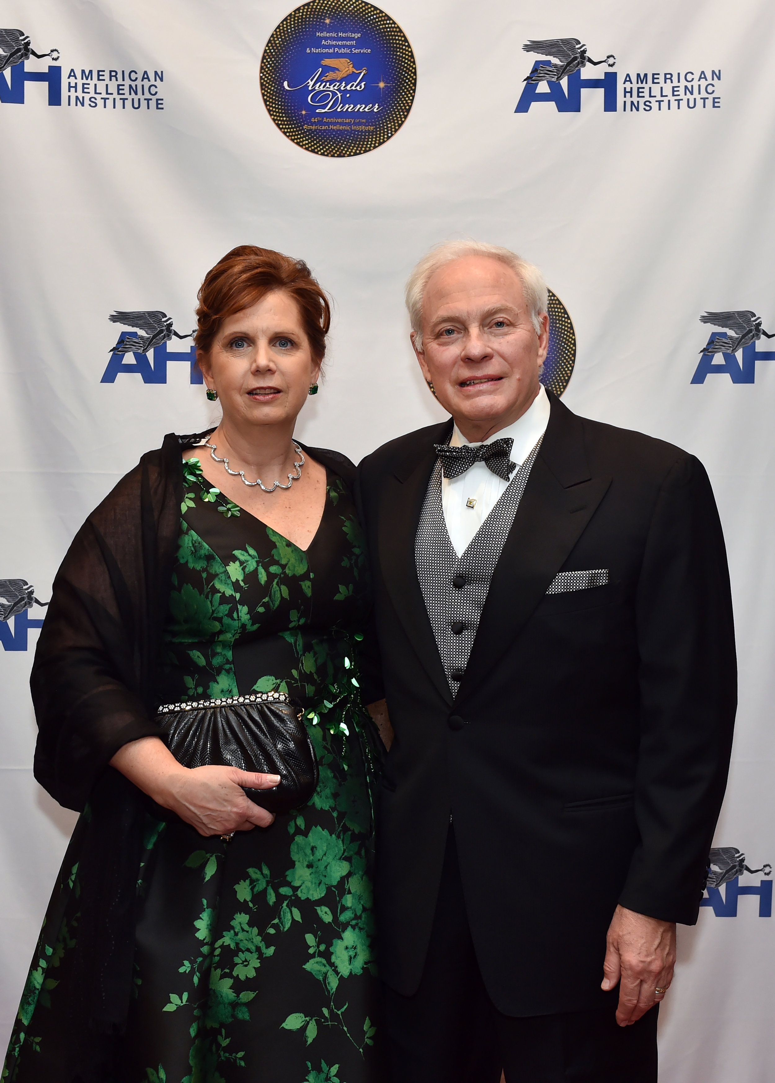 Nicholas Chimicles with his wife Kathleen Chimicles