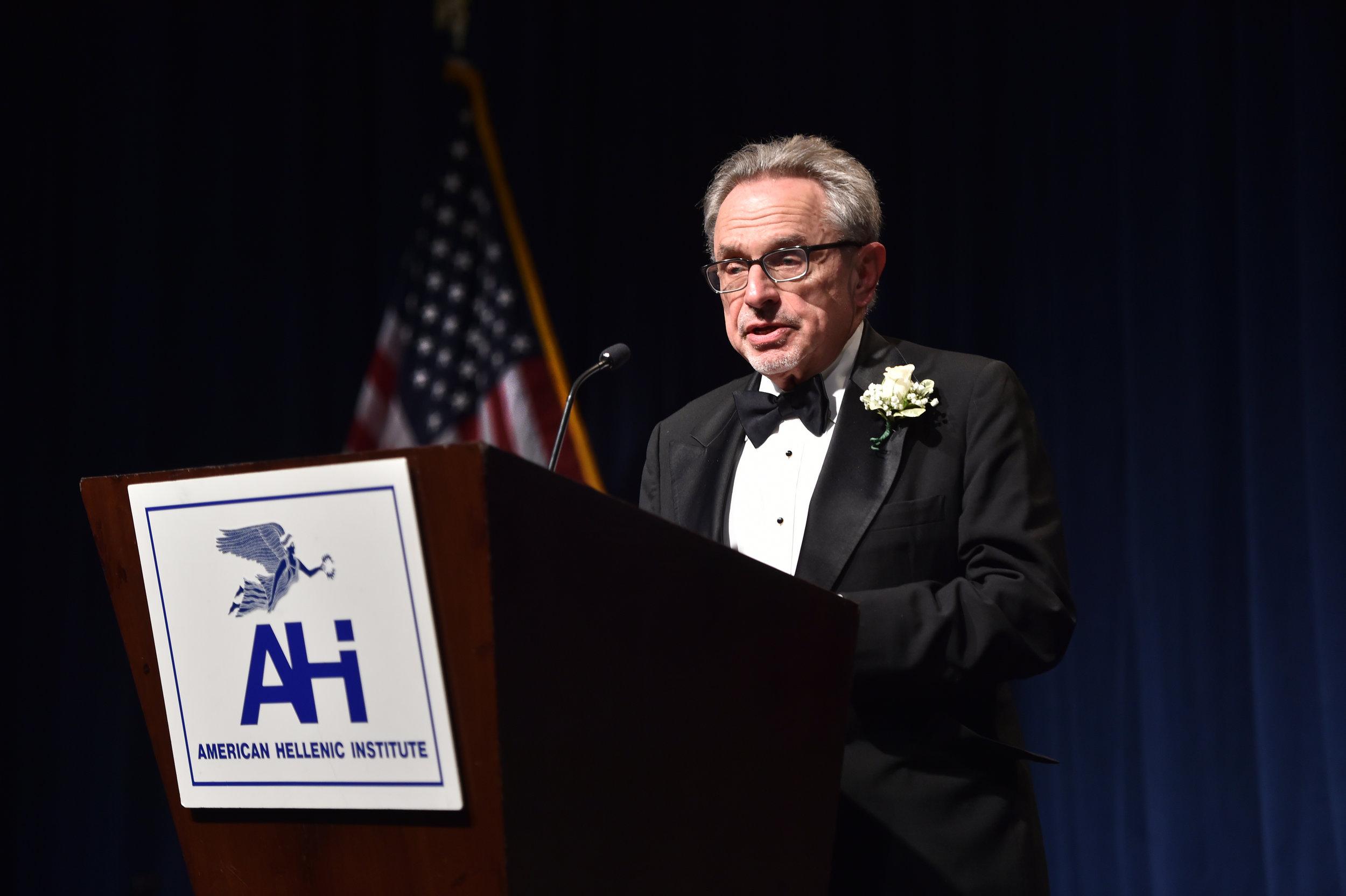 Honoree Ambassador Patrick Theros
