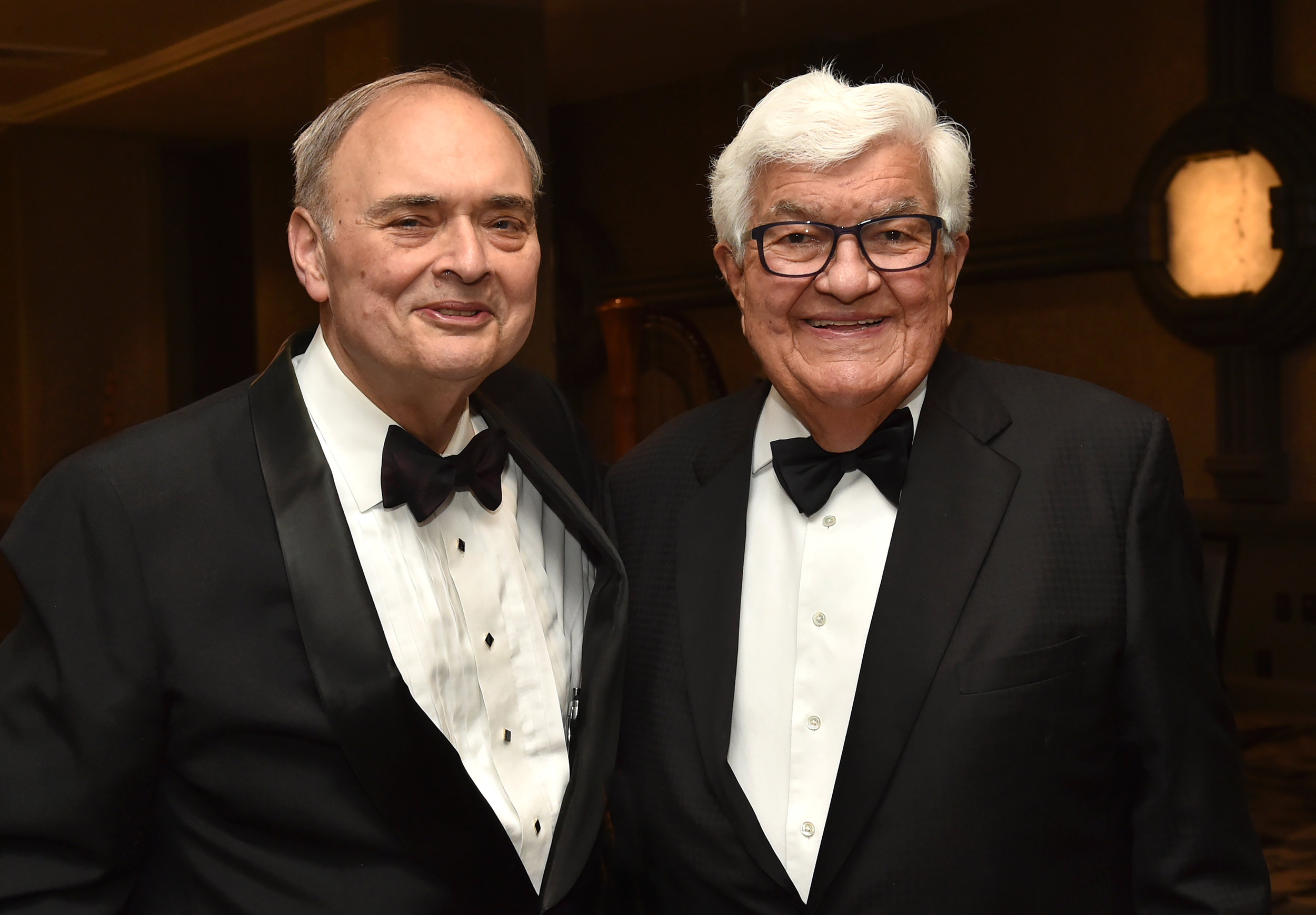 Manny Rouvelas with Ambassador Tom Korologos