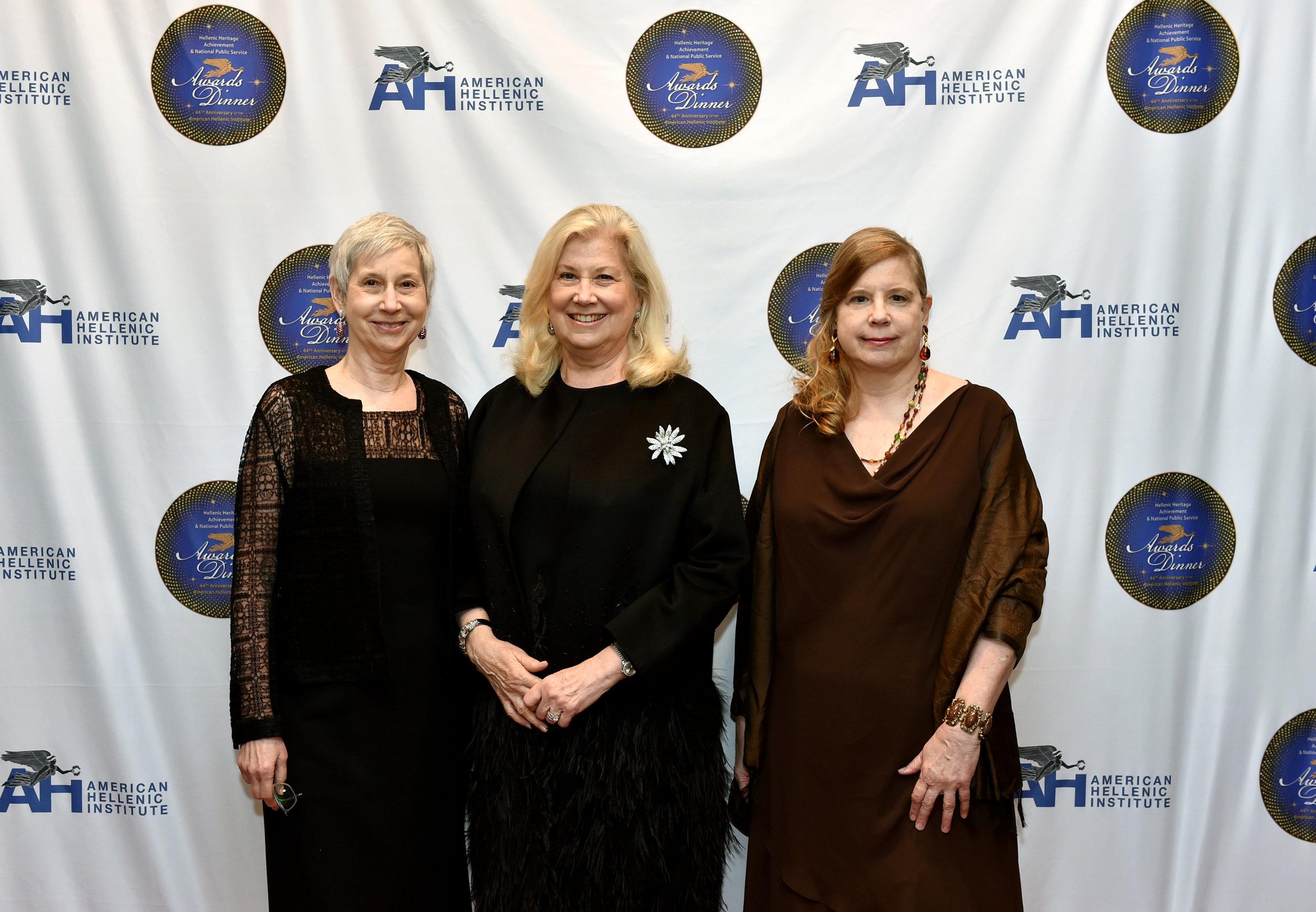 Dr Billie Lepczyk, Wanda Pedas and Patrice Lepczyk
