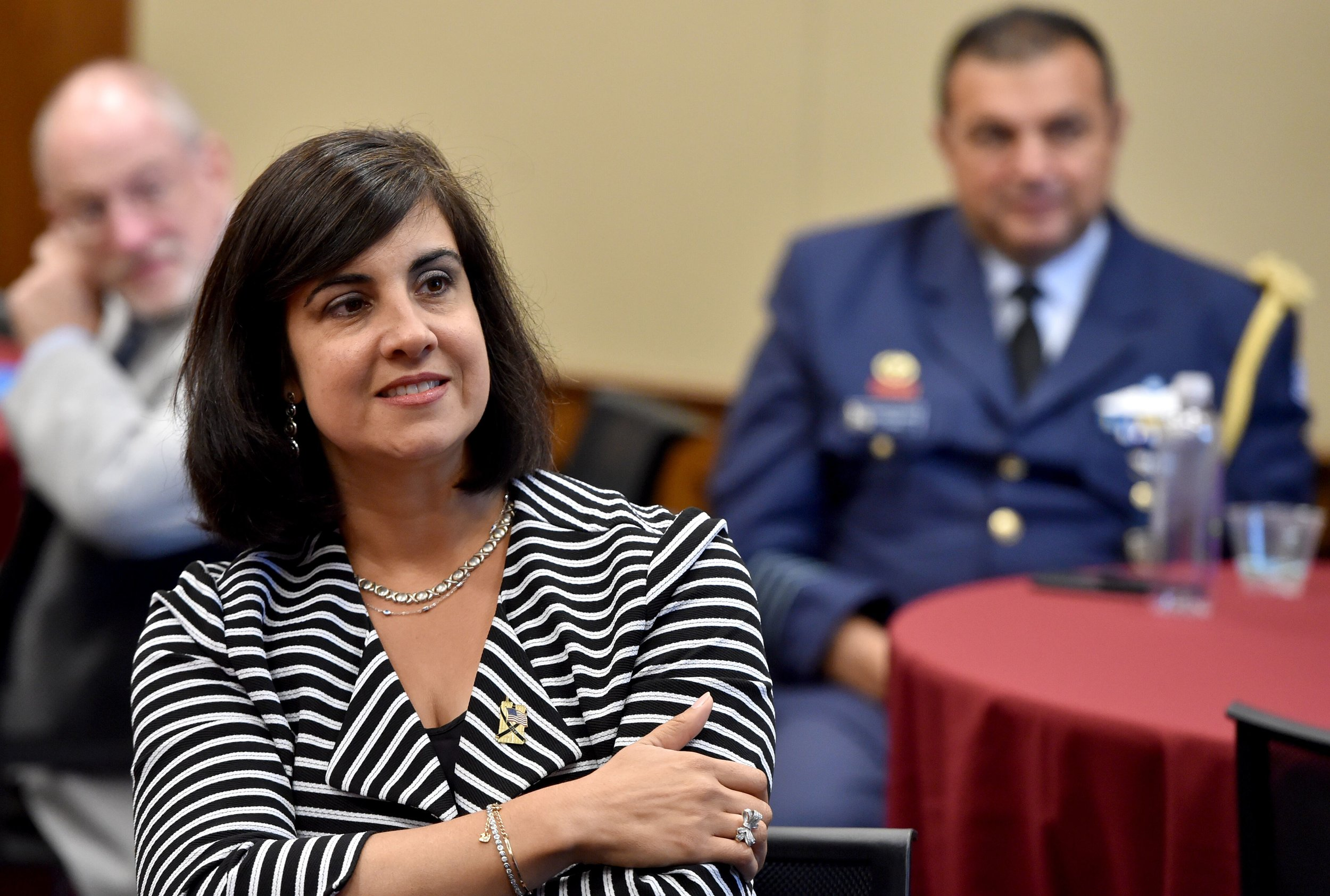 Assemblywoman Nicole Malliotakis (R-NY), a Greek-American candidate for Congress, attending AHI's Cyprus Commemoration